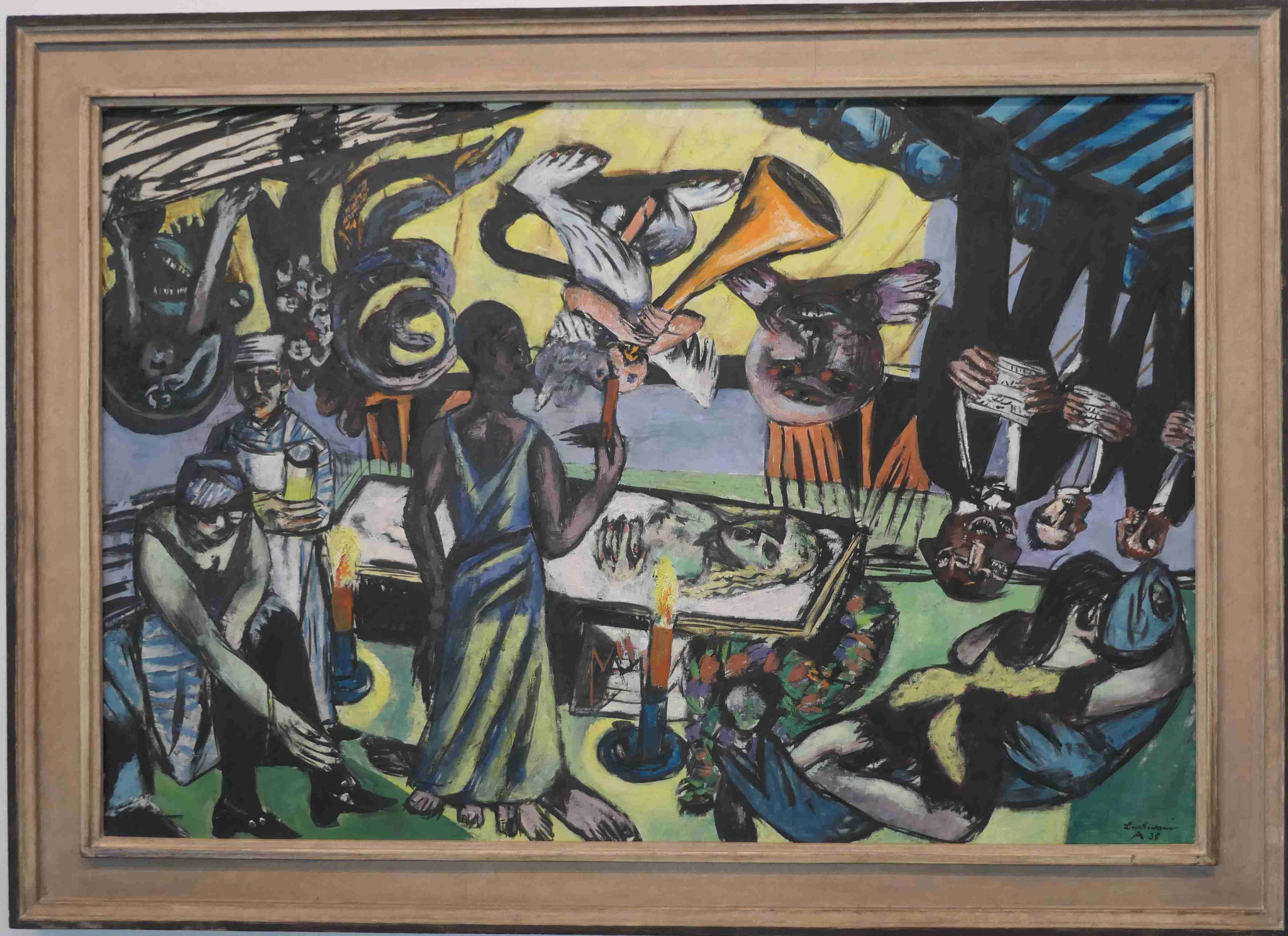 Max Beckmann, Tod, 1938, Neue Nationalgalerie Berlin