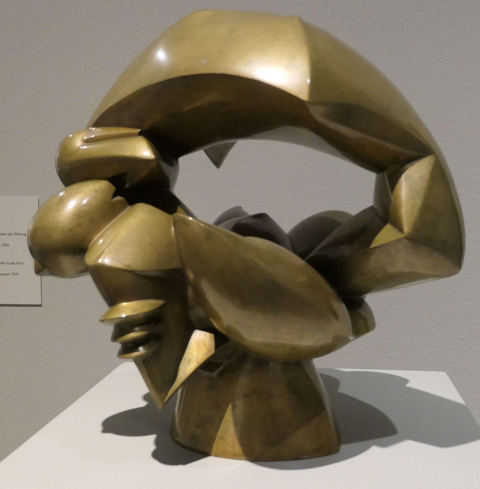 Rudolf Belling, Erotik, 1923, Berlinische Galerie