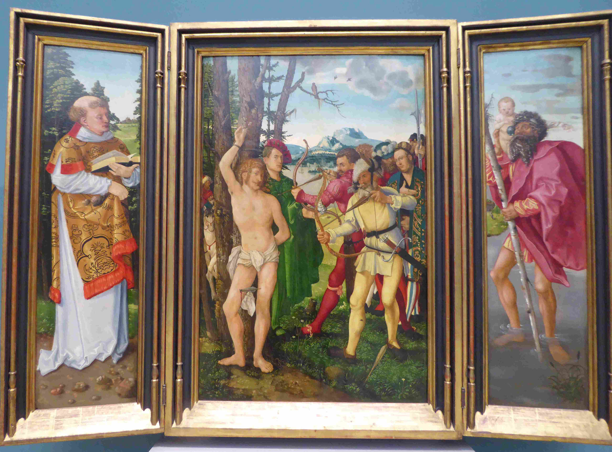 Hans Baldung Grien, Tryptichon, Germanisches Nationalmuseum Nürnberg