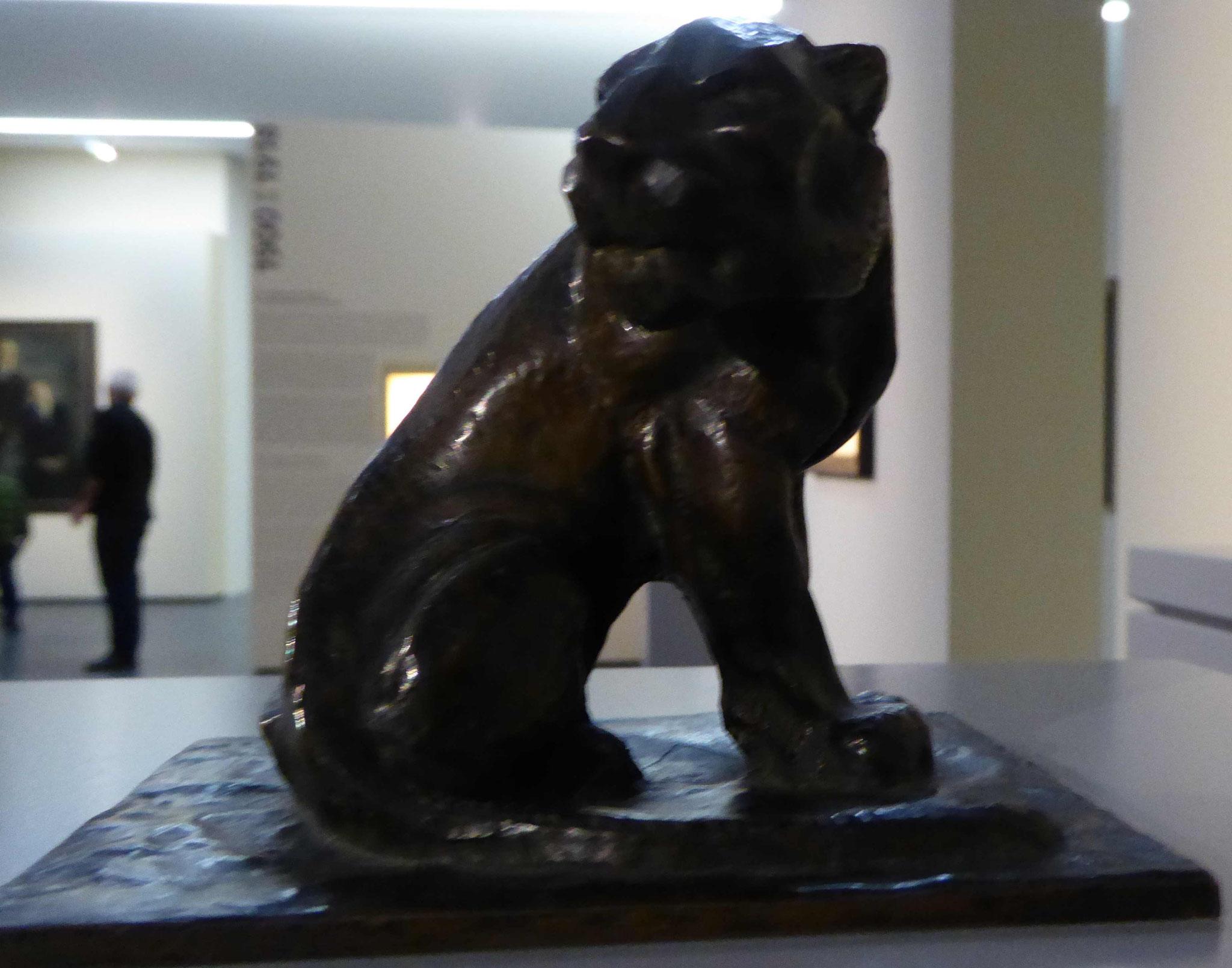 Franz Marc, Der Panther, 1908, Museum Moritzburg, Halle