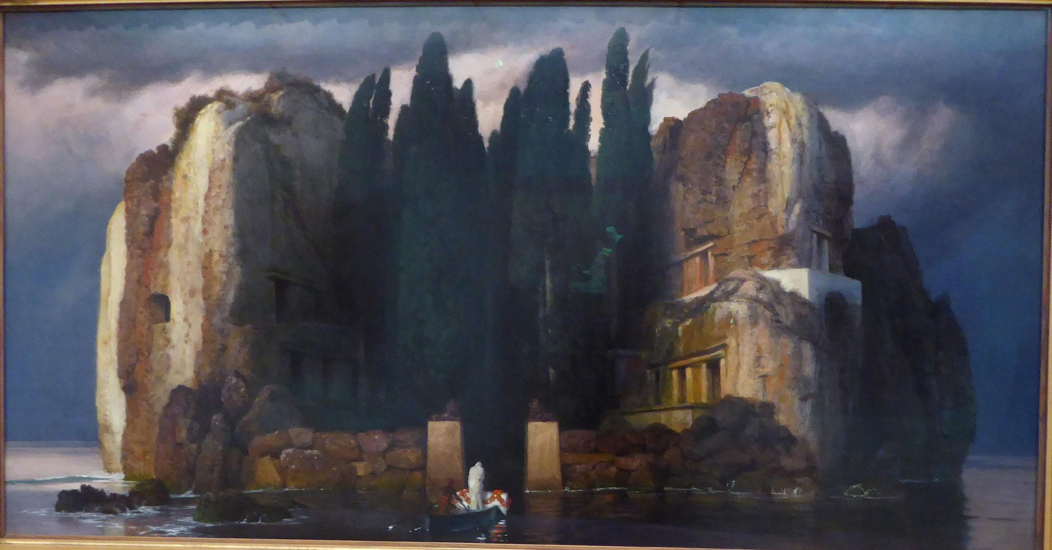Arnold Böcklin: Die Toteninsel, Museum der bildenden Künste, Leipzig
