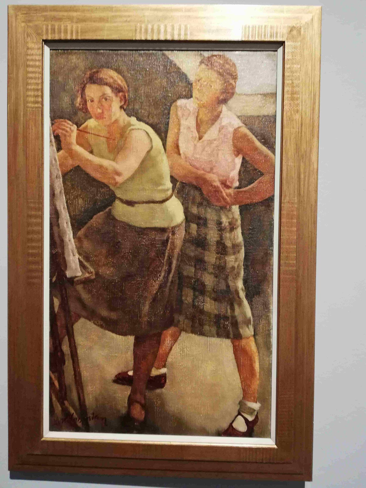 Lotte Laserstein, Zwei Mädchen, 1927
