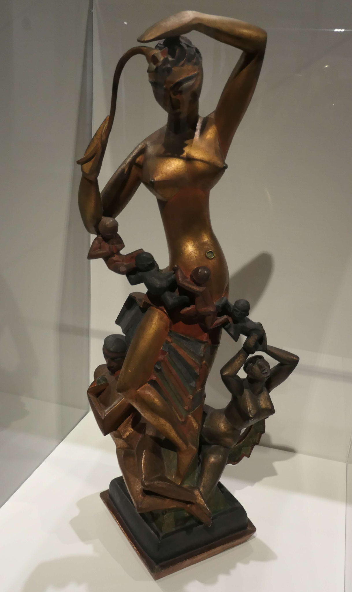 Rudolf Belling, Gruppe Natur, 1918, Neue Nationalgalerie Berlin
