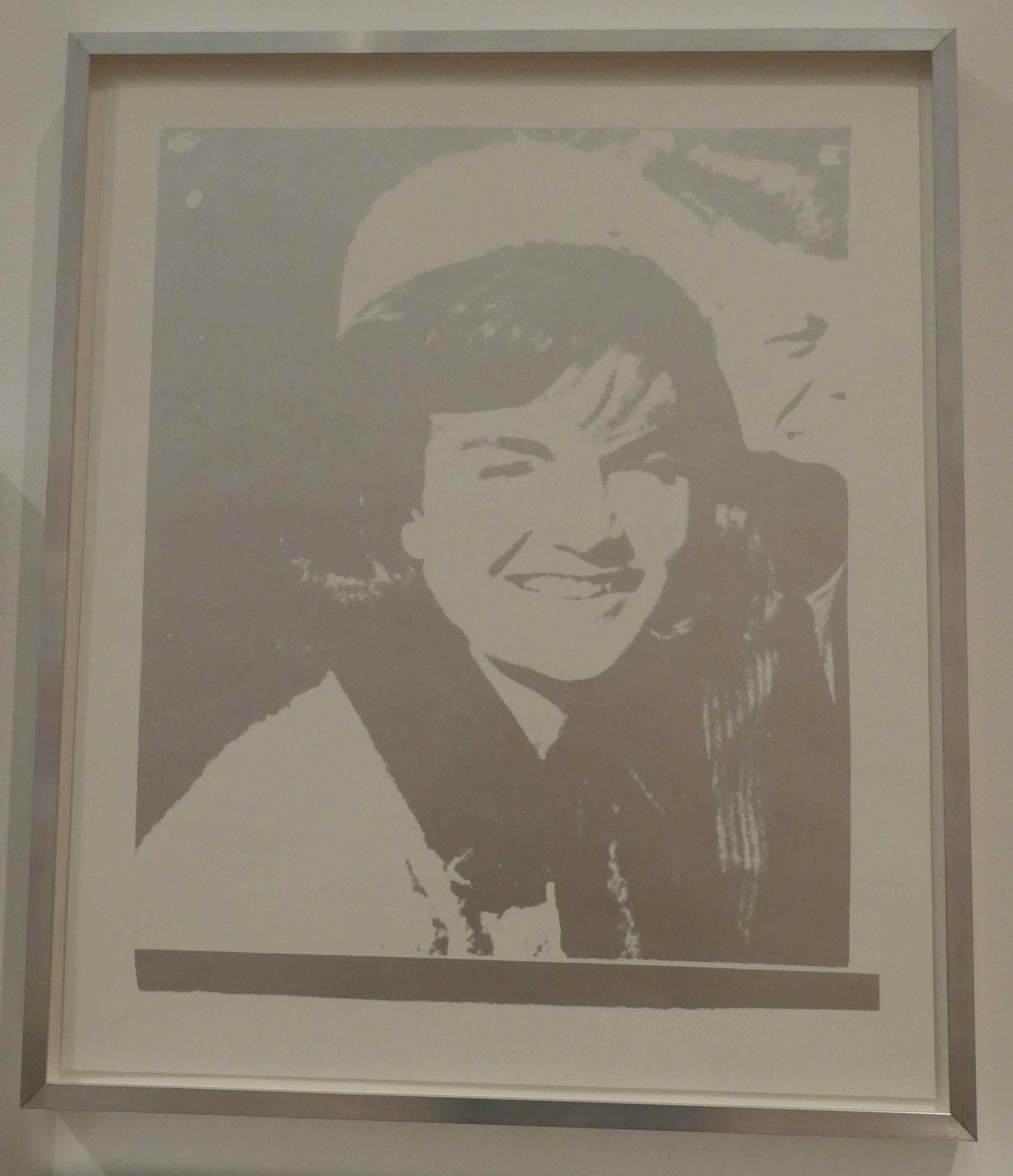 Andy Warhol, Jacqueline Kenndy (Jackie), Siebdruck 1966, Kunsthandel Berlin