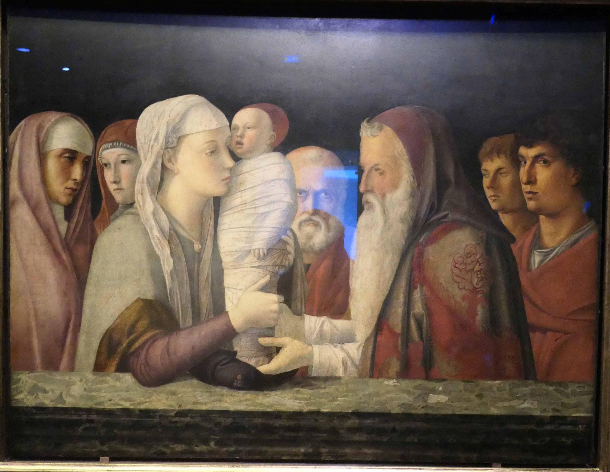 Giovanni Bellini, Die Darbringung Christi im Tempel, um 1470/75
