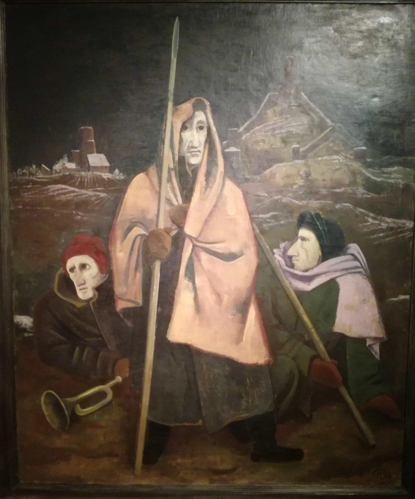 Karl Hofer, Sammlung Scharf-Gerstenberg, Nationalgalerie Berlin