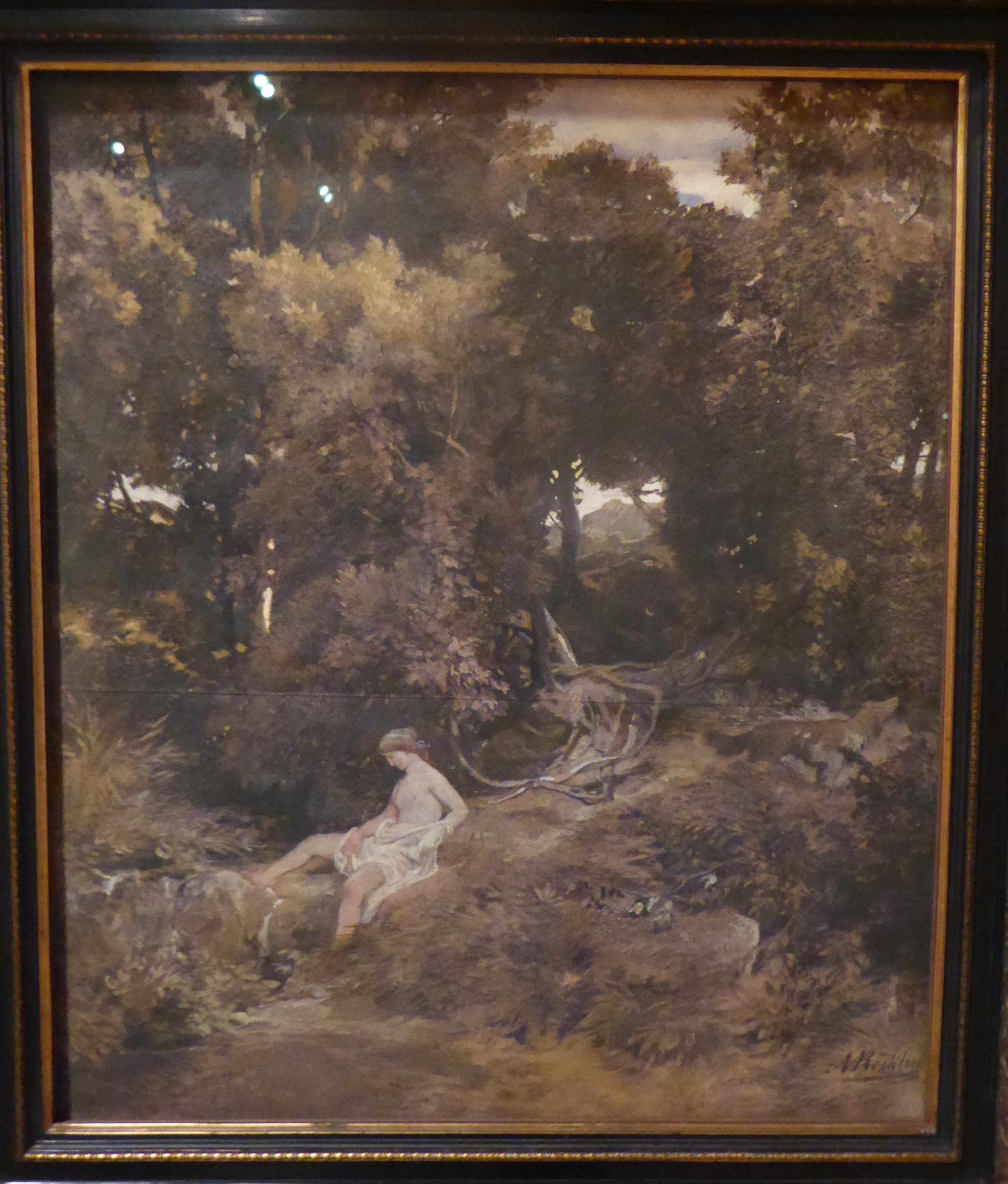 Arnold Böcklin, Museo Thyssen-Bornemisza, Madrid, Spanien