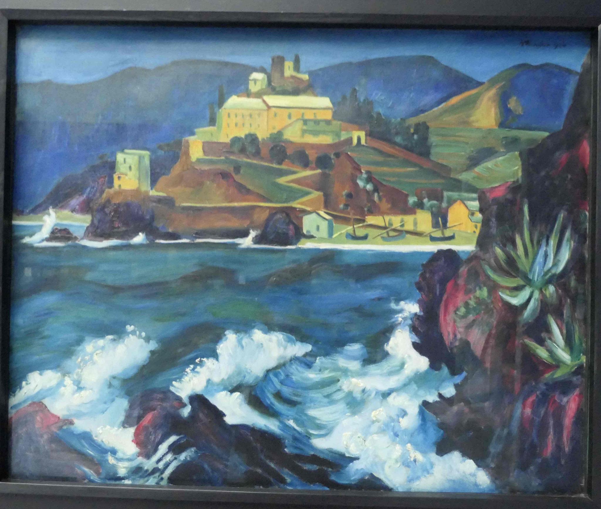 Max Pechstein, Convent von Monterosso al mare, 1924, Kunsthalle zu Kiel