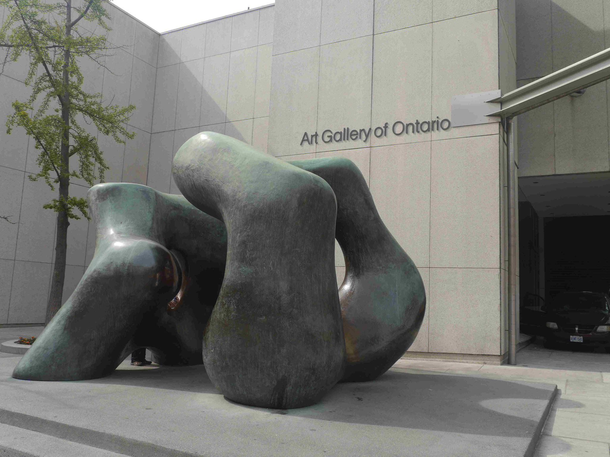 Henry Molore, Art Gallery of Ontario, Kanada