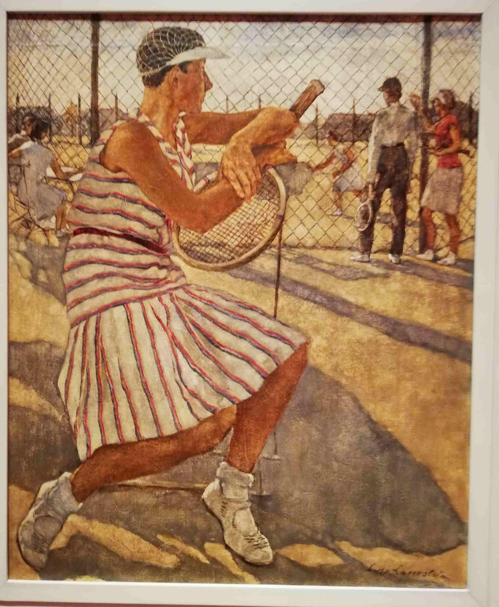 Lotte Laserstein, Tennisspielerin, 1929