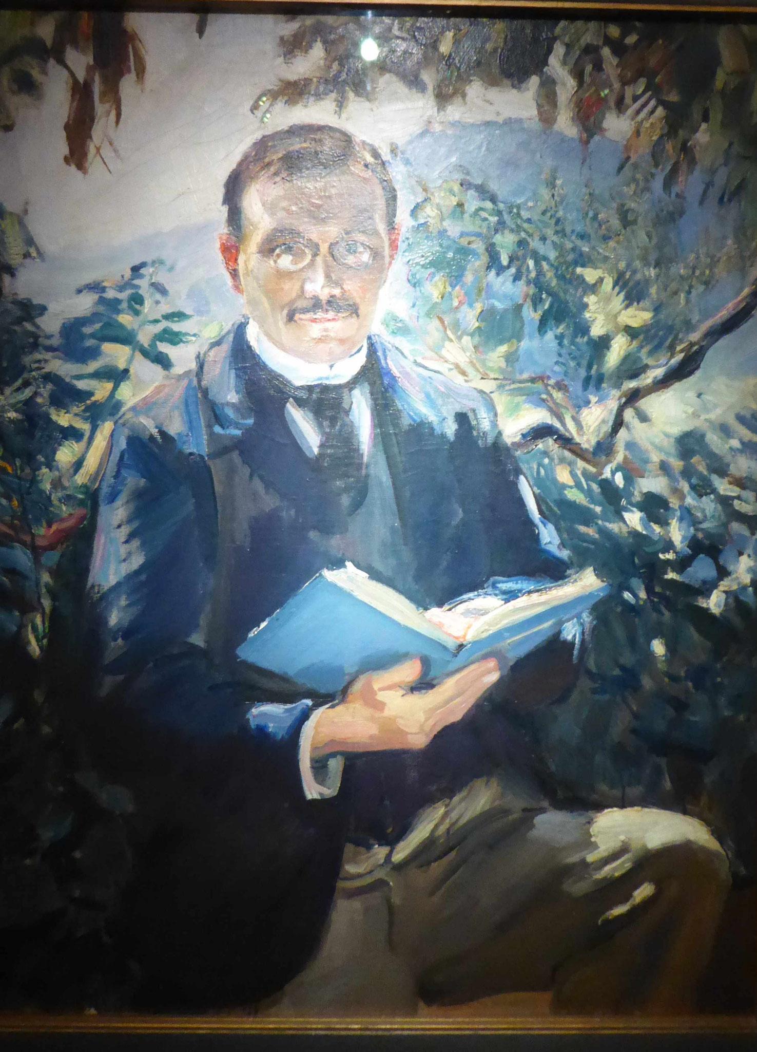 Max Slevogt, Der Philosoph, 1903, Museum Moritzburg, Halle