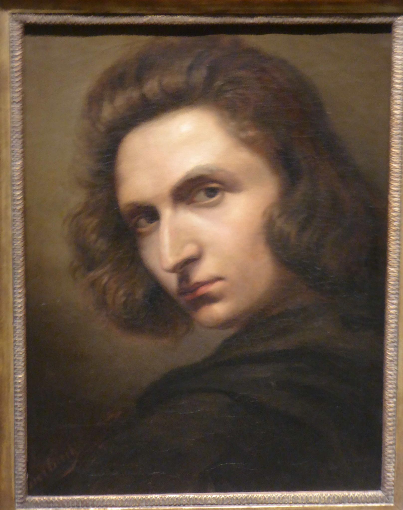 Ansel Feuerbach, Selbstportrait, Germanisches Nationalmuseum Nürnberg