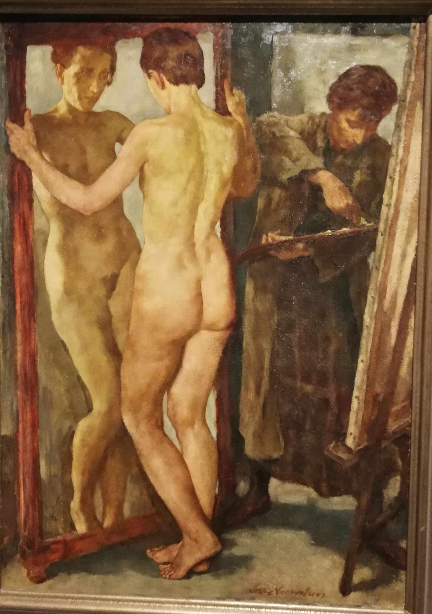 Lotte Laserstein, Vor dem Spiegel, 1930/31
