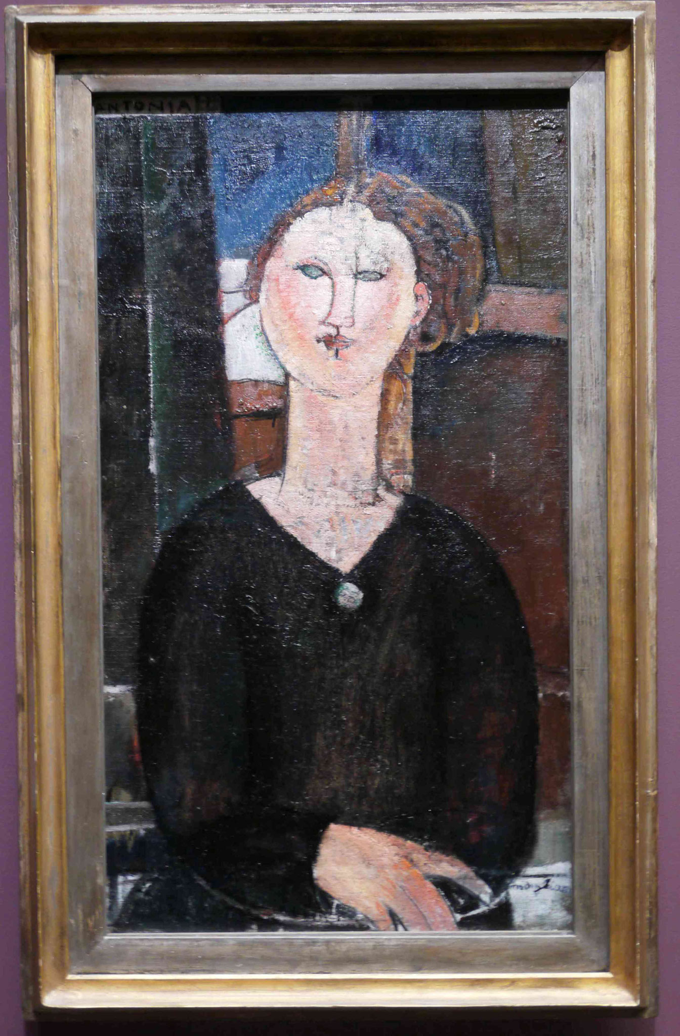 Modigliani, Musée National de l'Orangerie, Paris