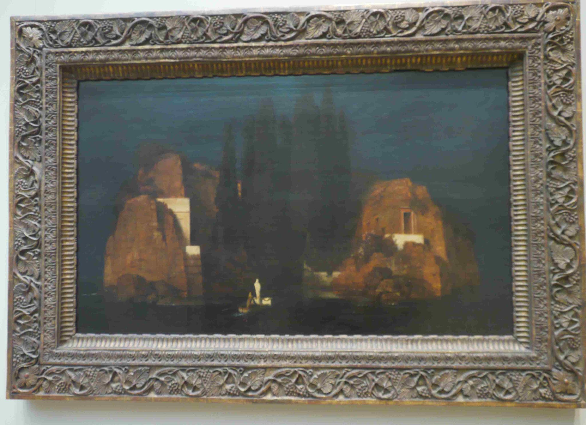 Arnold Böcklin, Die Toteninsel, Met