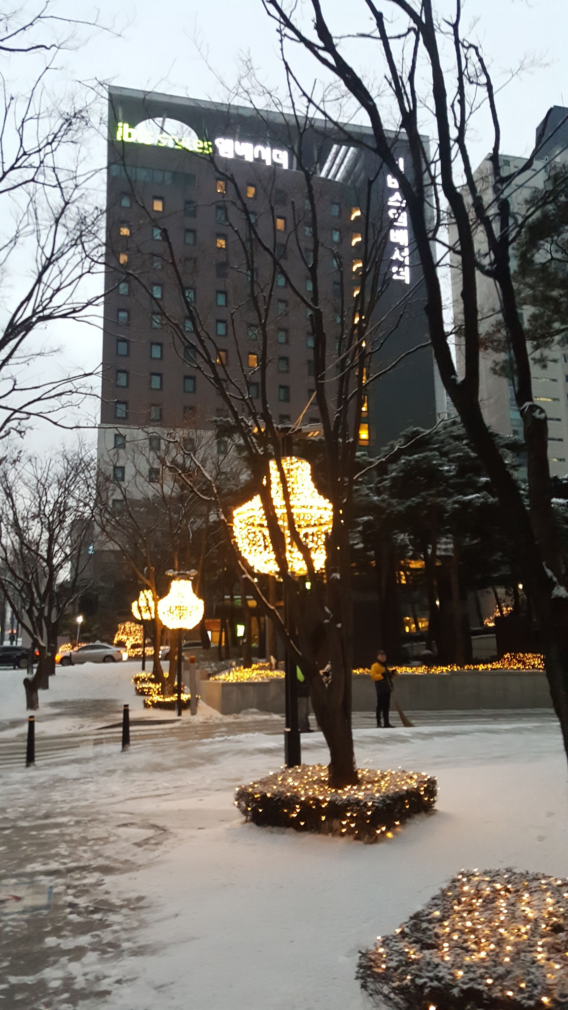 2017年総会・新年会の会場のあるイビススタイルアンバサダーホテル ソウル江南