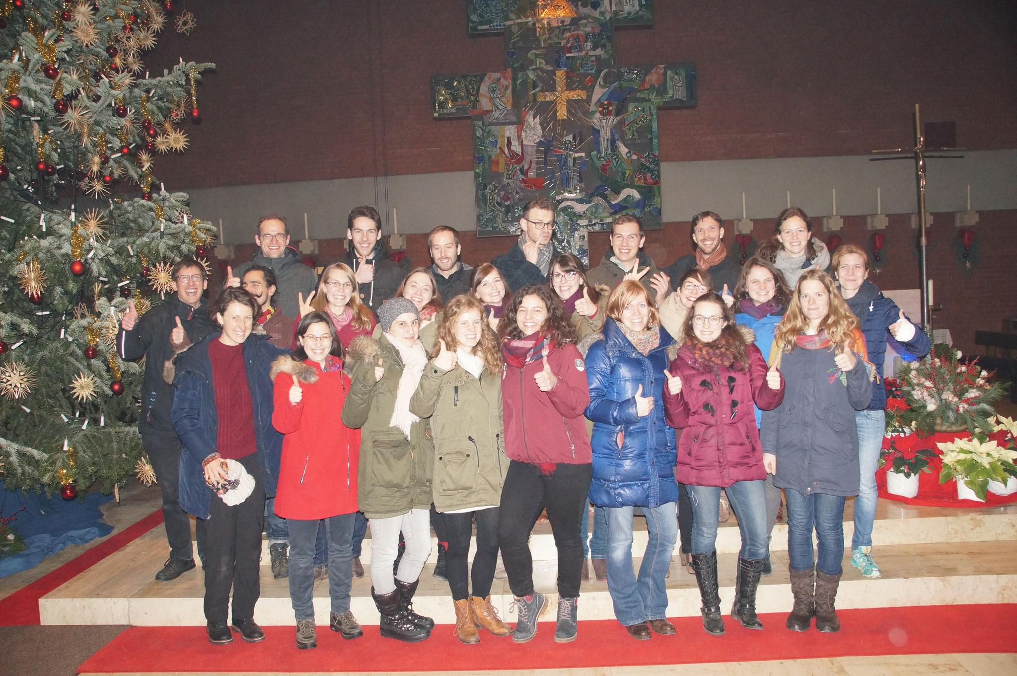 "Studentengottesdienst ""Blaue Stunde"" 2017"