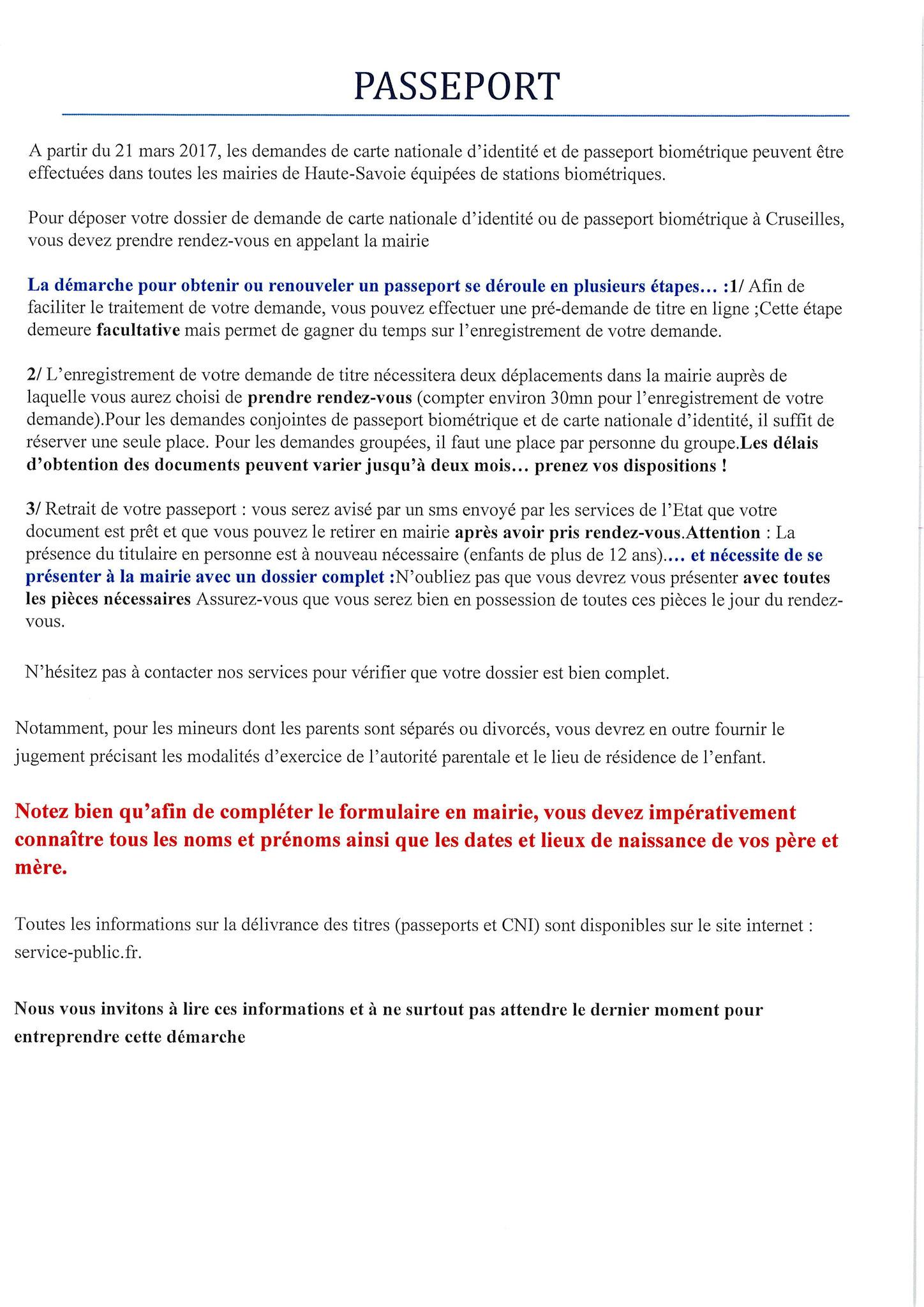 Info Carte D Identite Et Passeport Mairie De Copponex