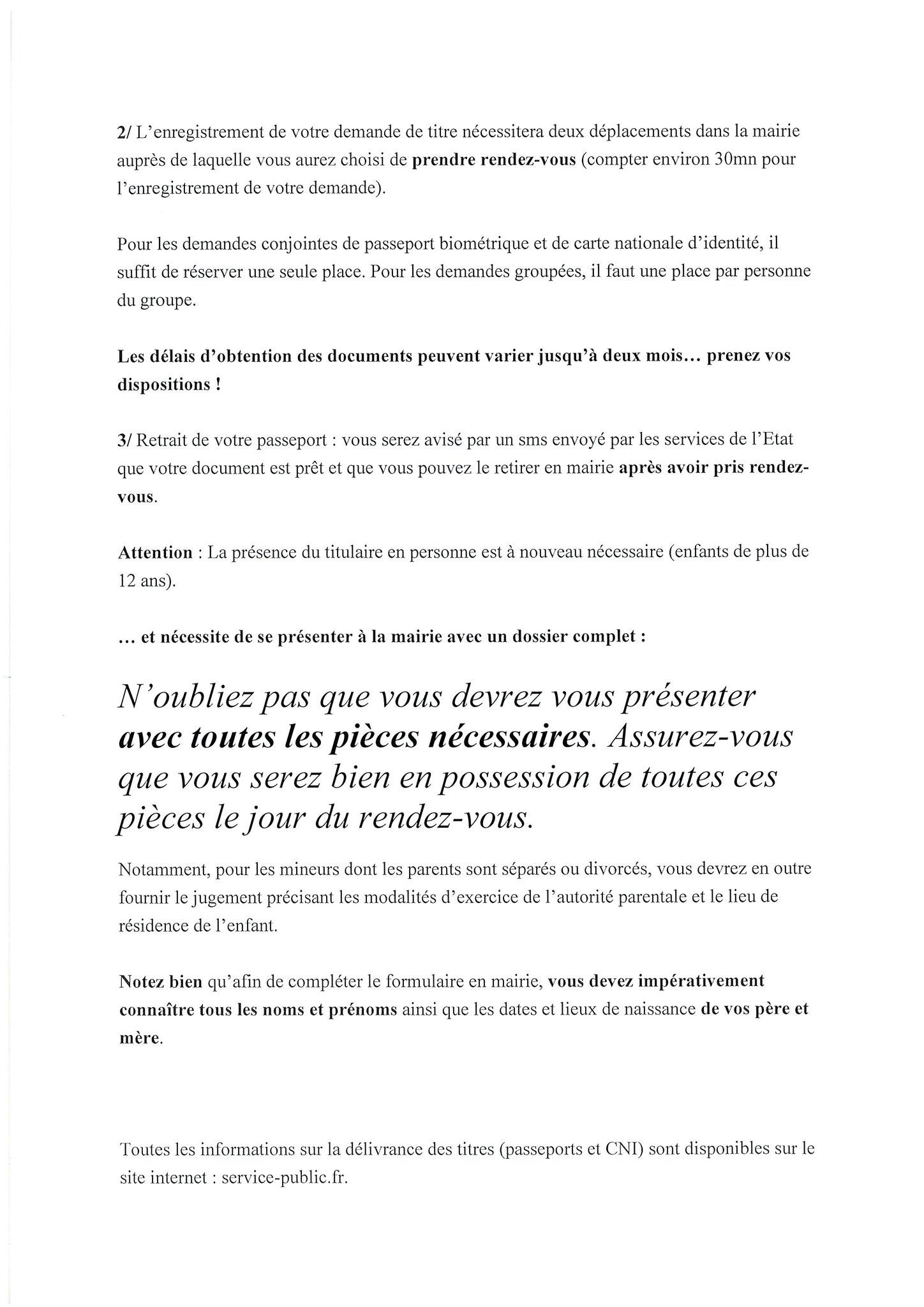 attestation de renouvellement de carte d identité pour voyager Info carte d'identité et passeport   Mairie de Copponex