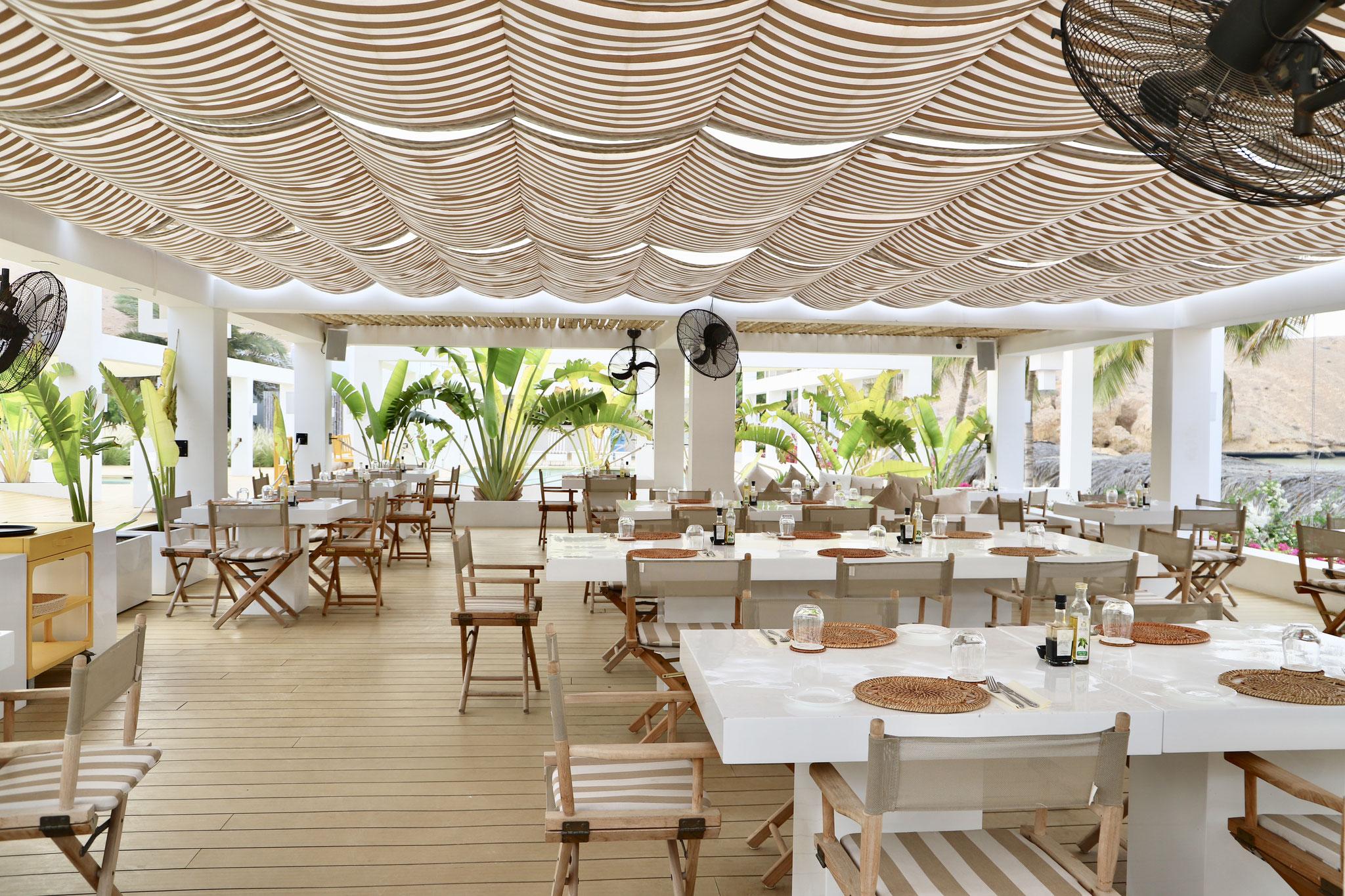 Restaurant, Beach Club Muscat Hills Resort
