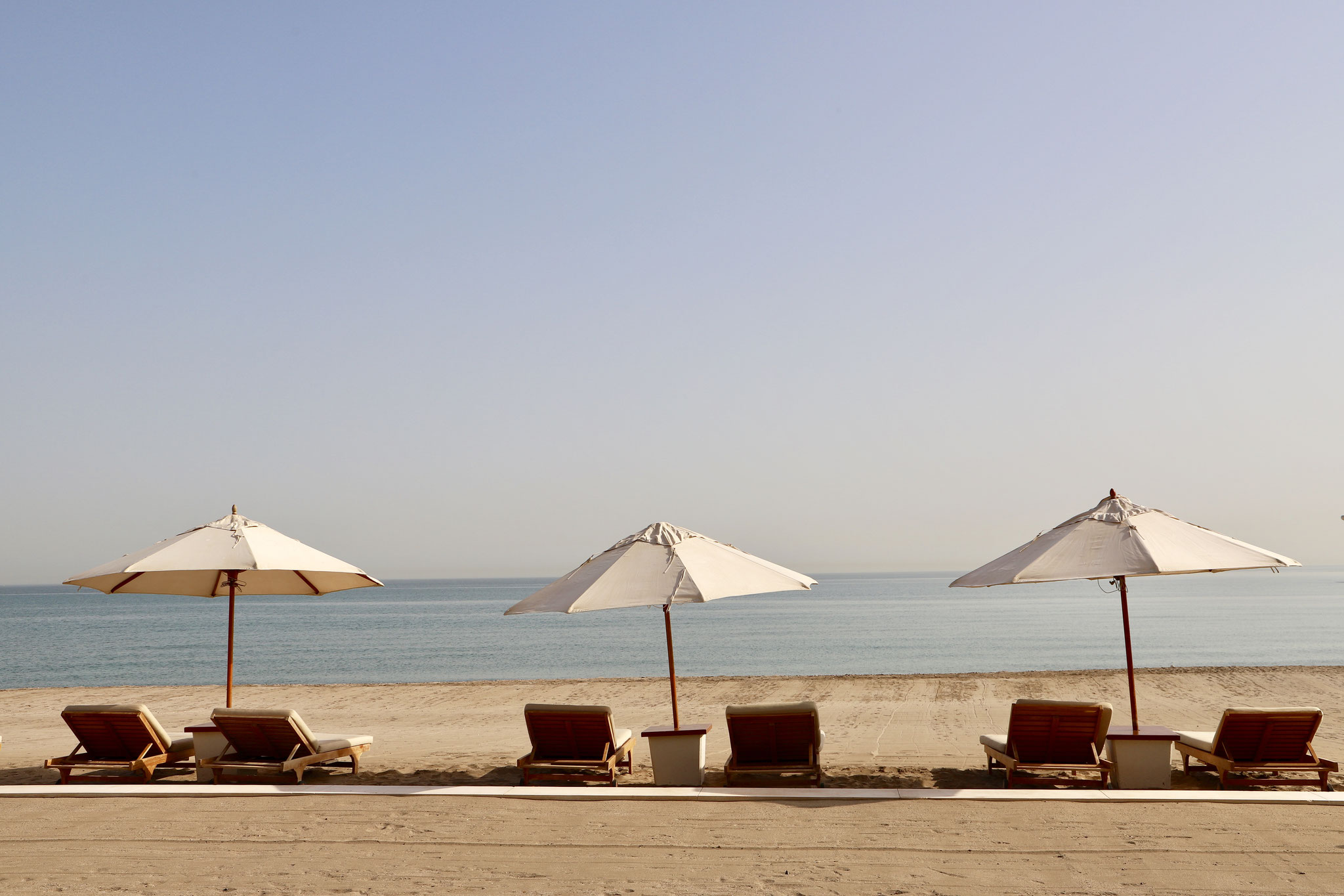 Beach time at The Chedi Muscat