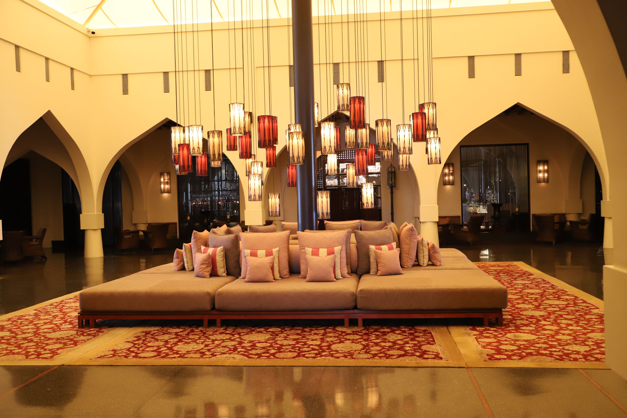Lobby The Chedi Muscat
