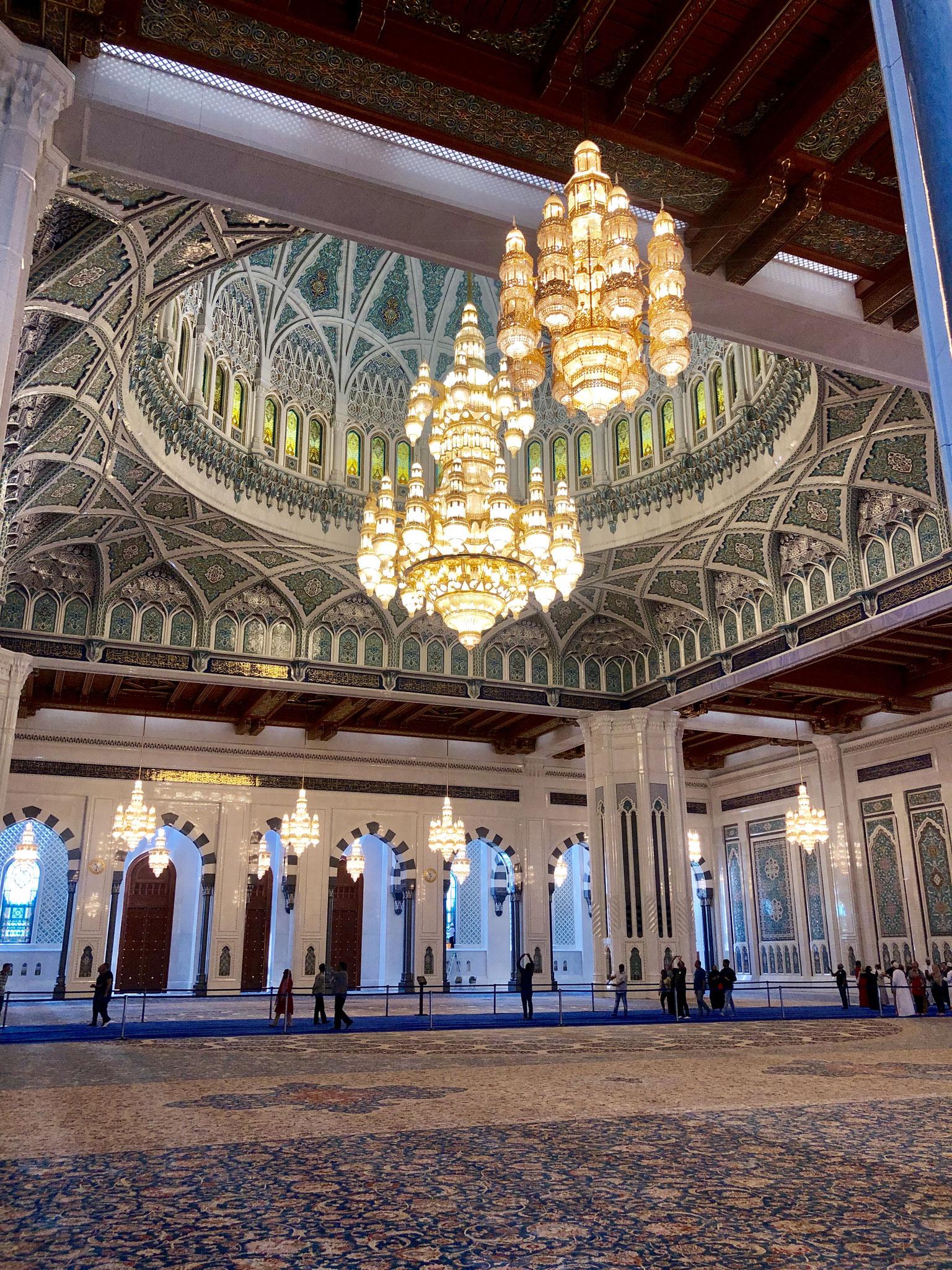 Persian Carpet Sultan Qaboos Grand Mosque