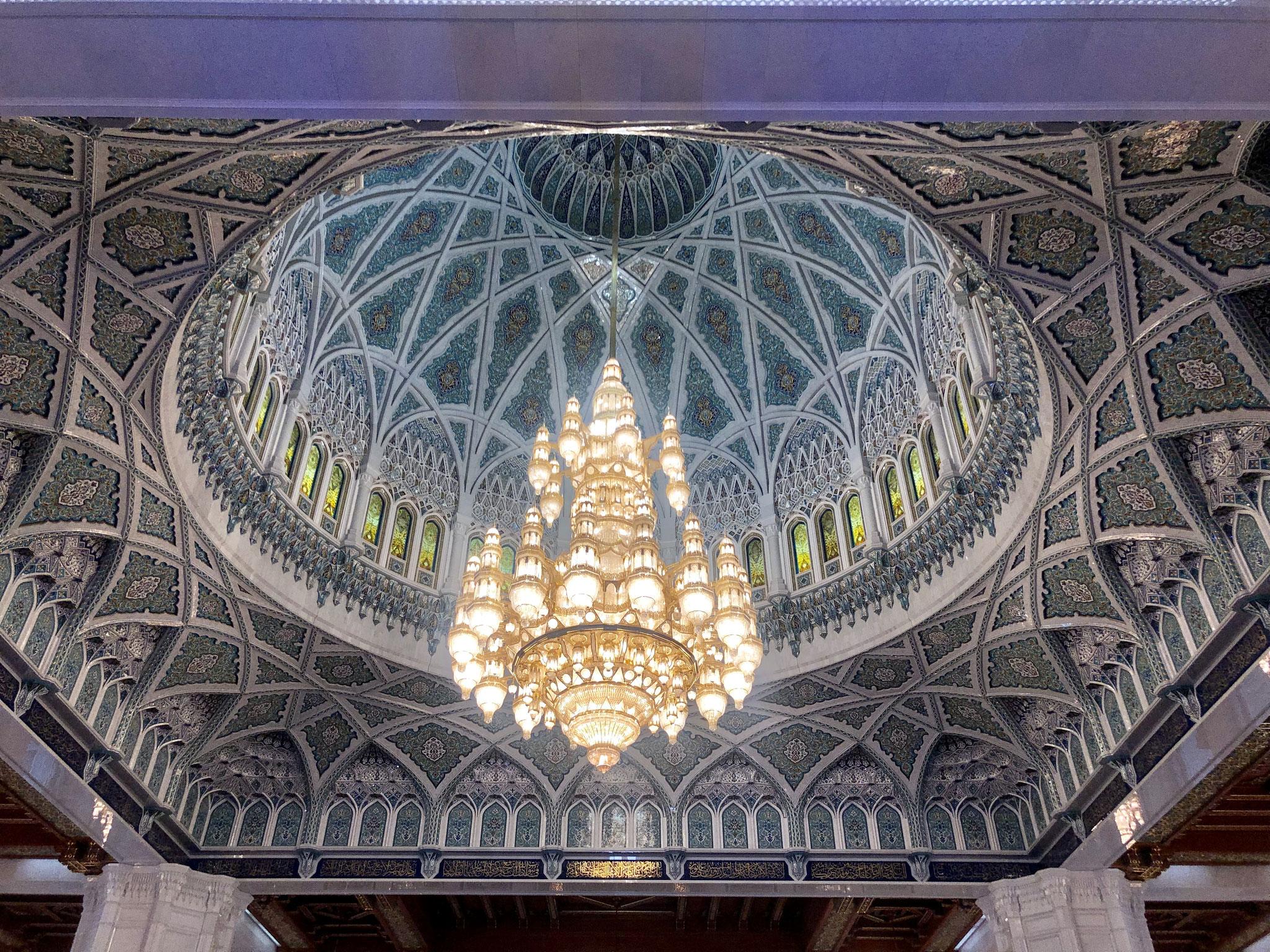 Chandelier Sultan Qaboos Grand Mosque