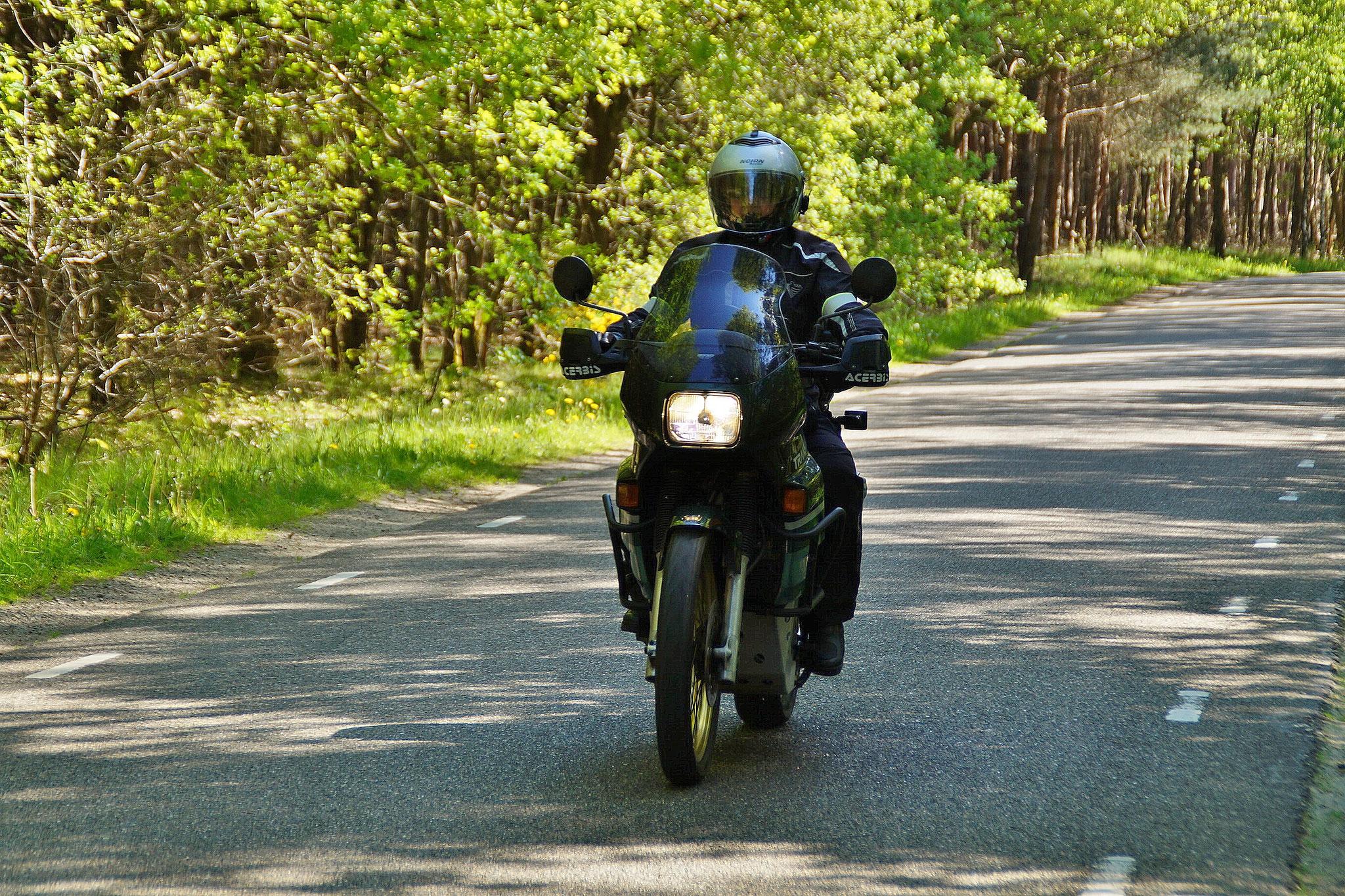 Motorradfahren macht Spaß