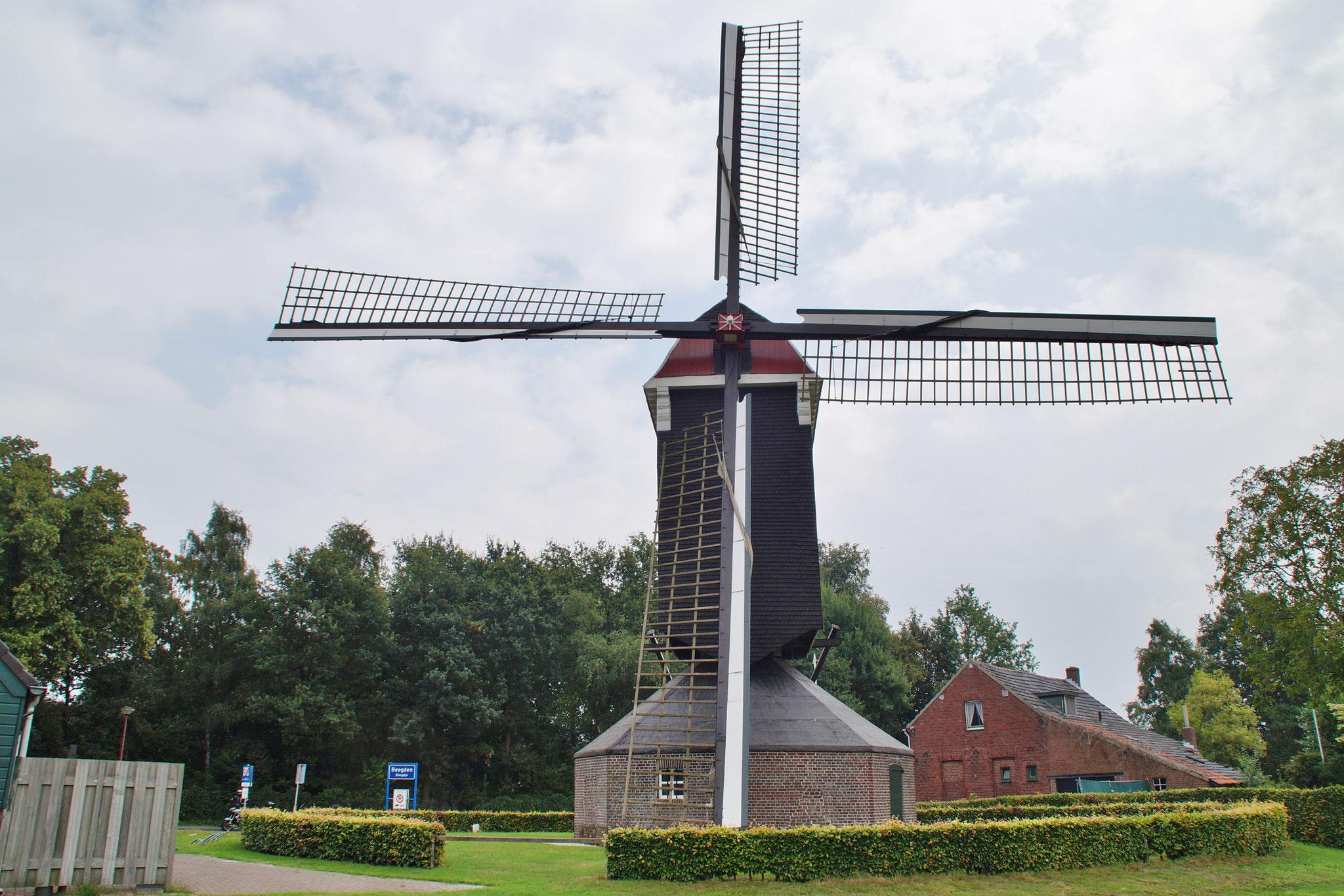 Die Windmühle von Beegden