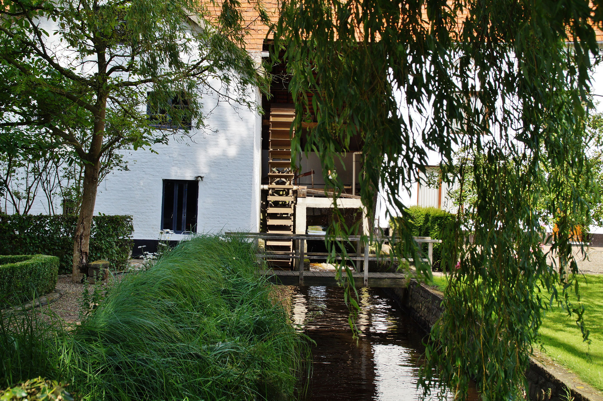 Wassermühle bei Wurfeld (B) bei Maaseik