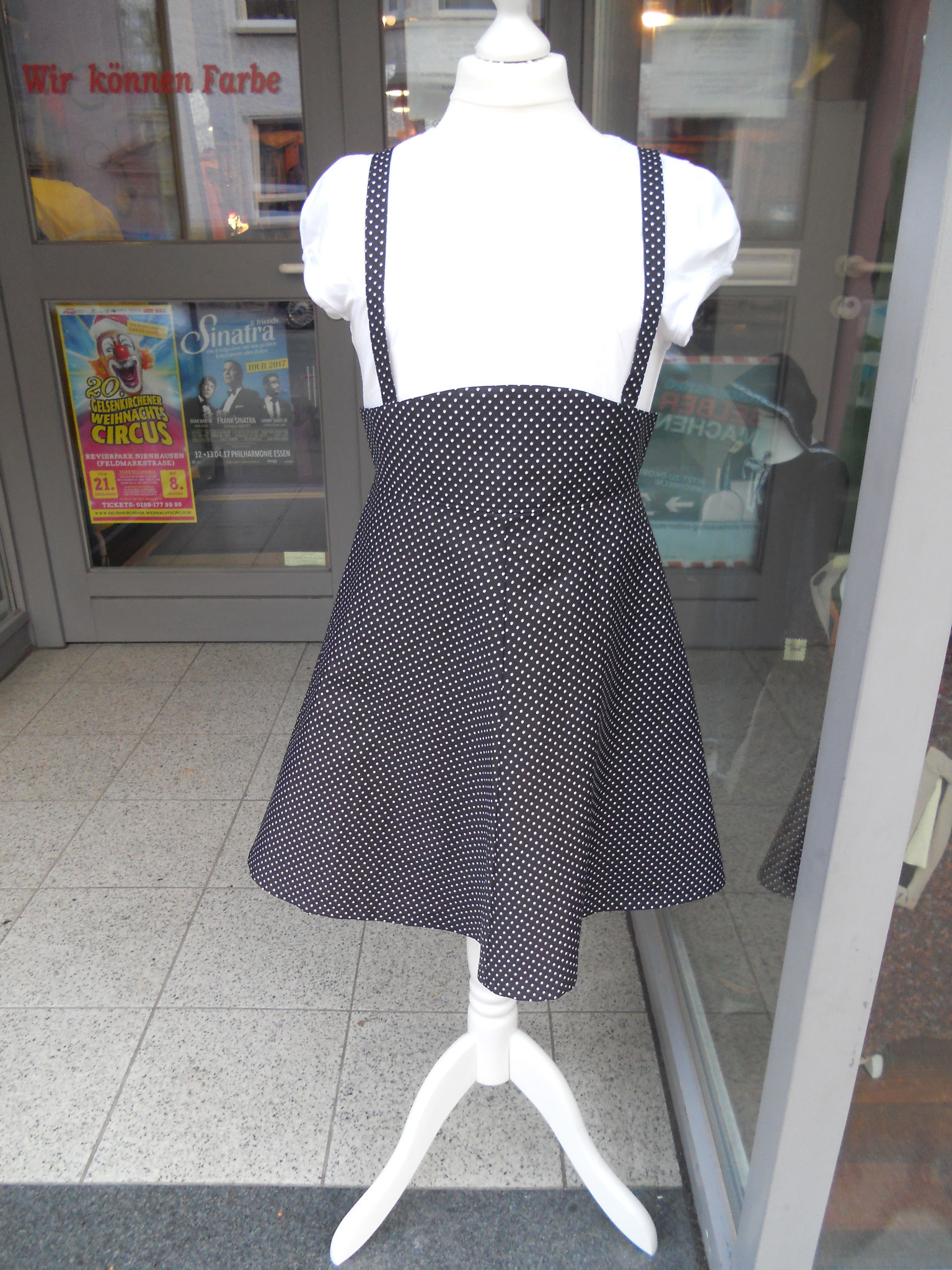 Trägerkleid, Gr. 140, Baumwolle, Original Schnittmuster 1952, 30€
