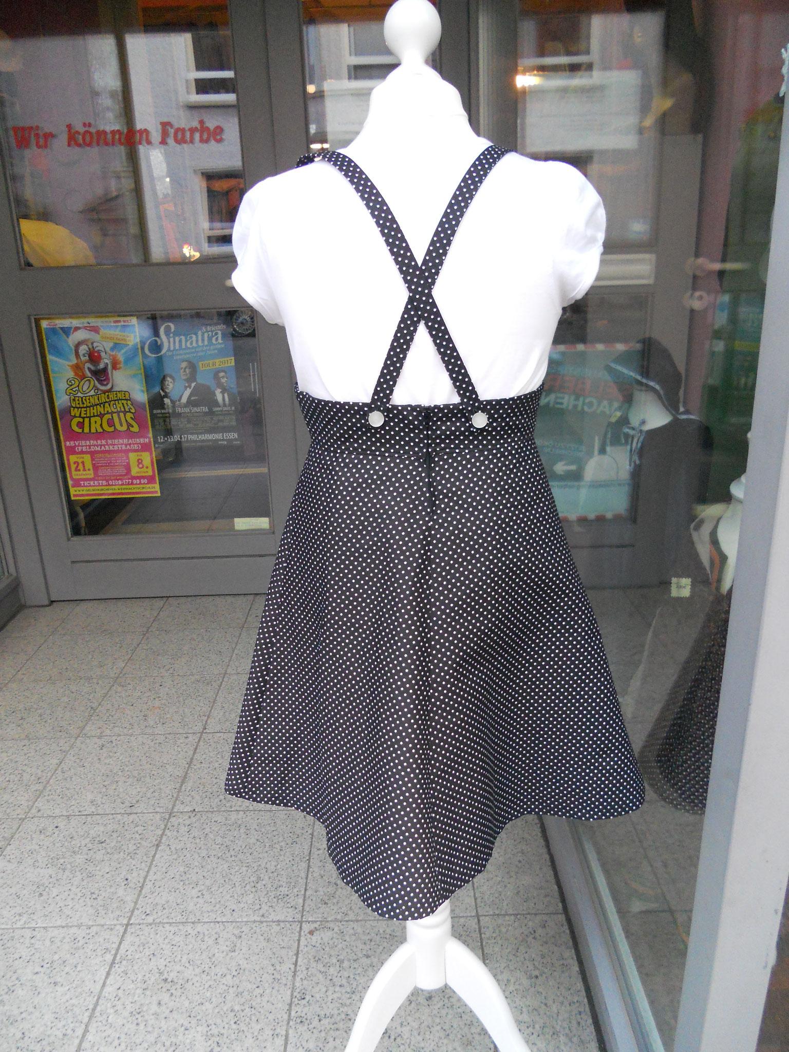 Trägerkleid Rücken