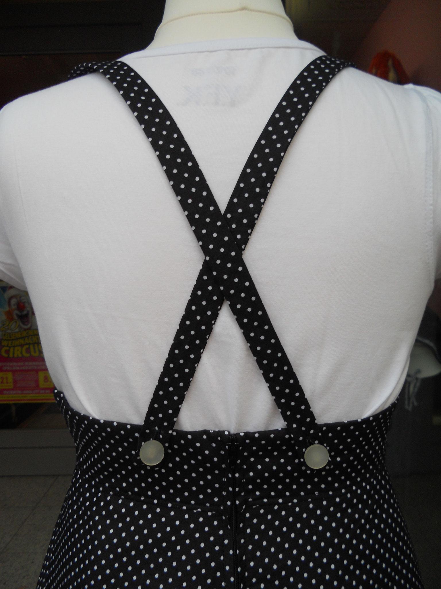 Trägerkleid Rücken Detail
