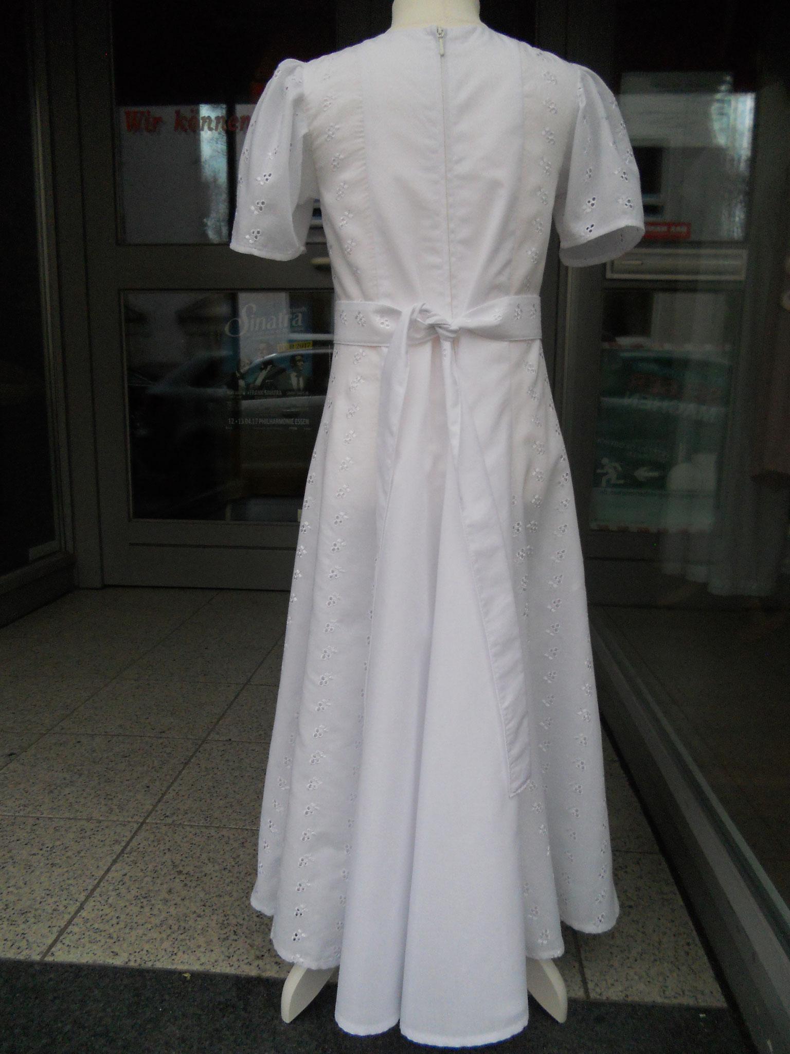 festliches Kleid, Kommunionkleid, Gr. 122, Rückenansicht,  98 €