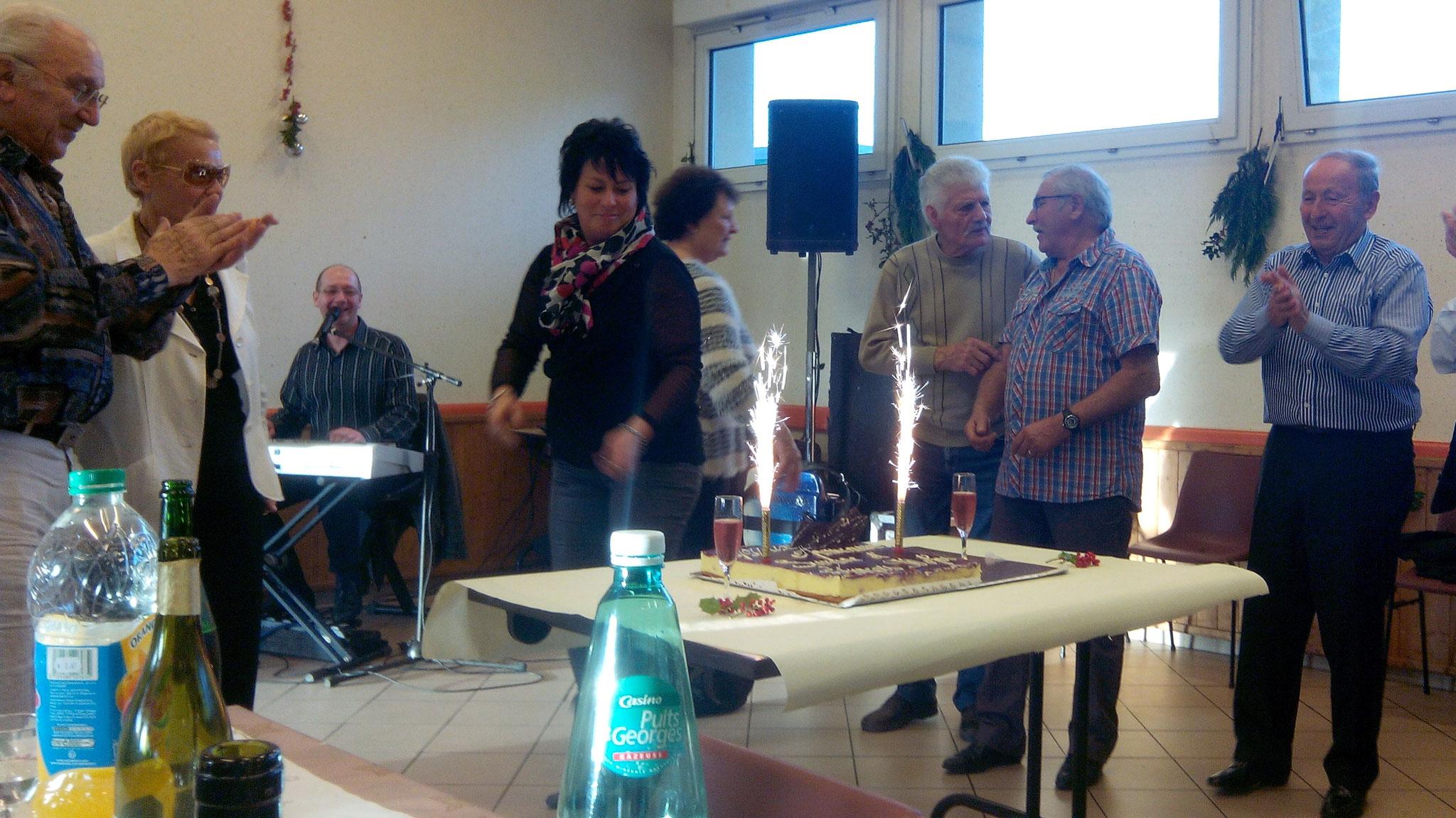 Repas des aînés, organisé par le CCAS, édition 2014