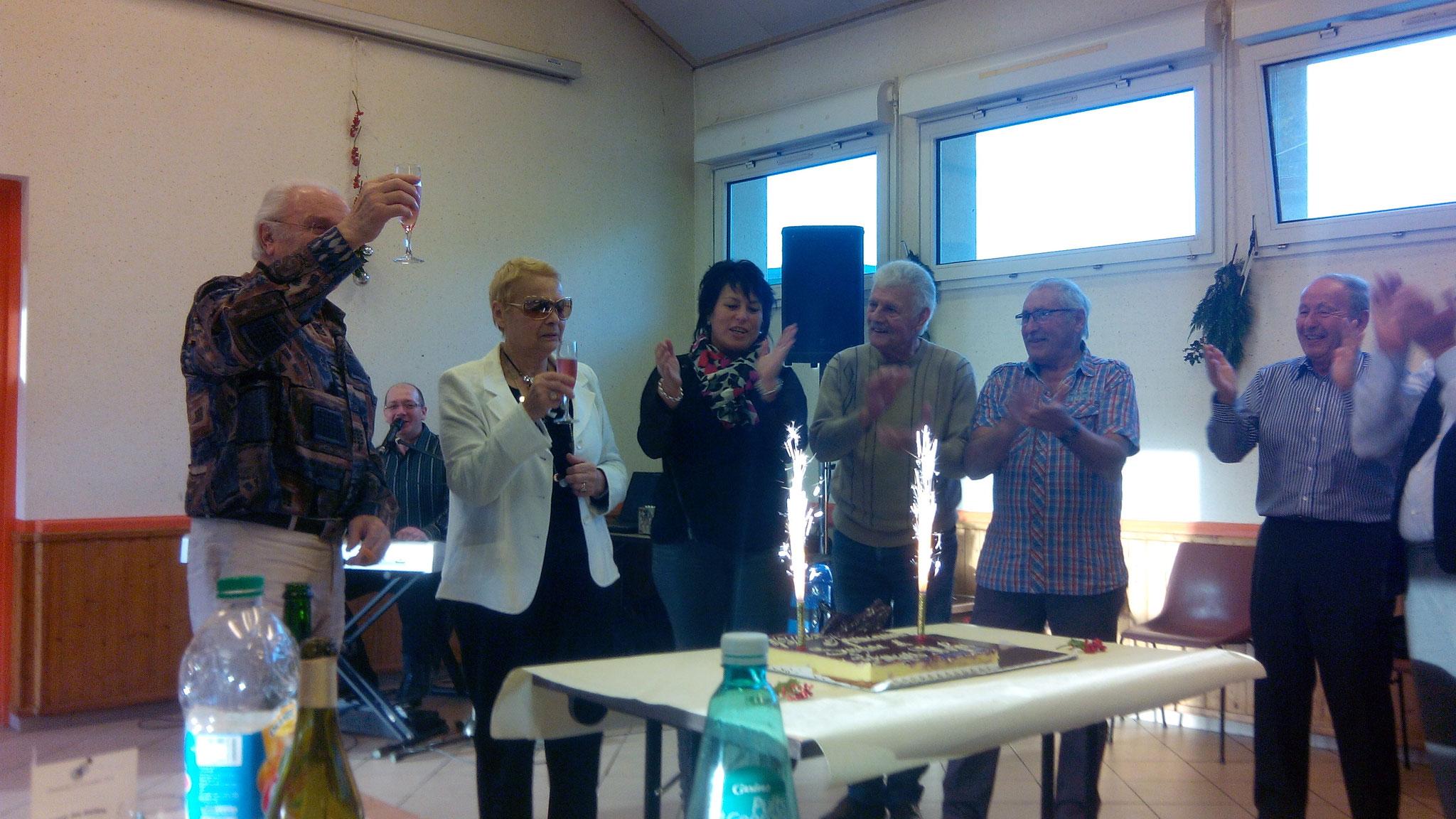 Repas des aînés, organisé par le CCAS, édition 2014- autre photo.