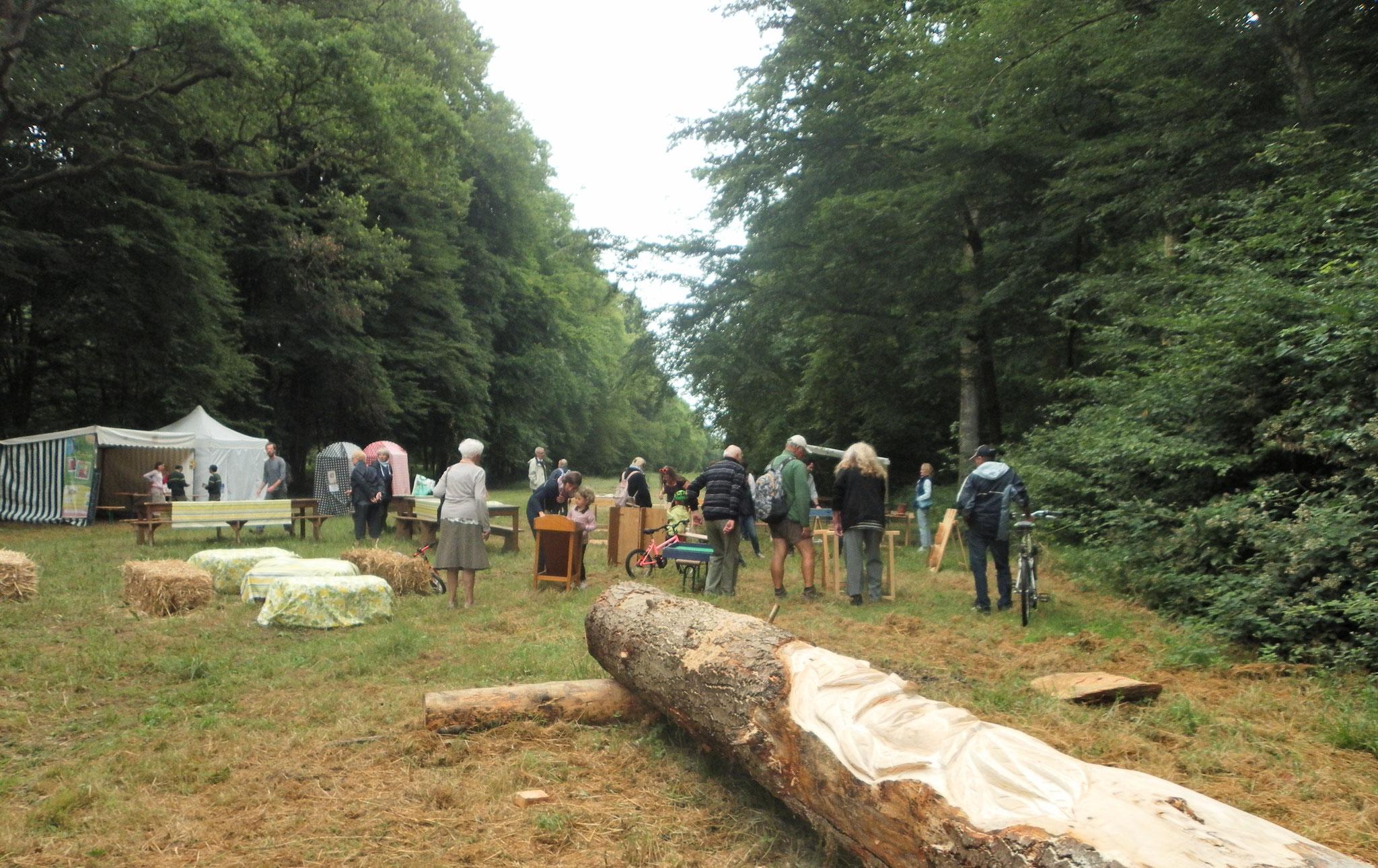 L'esprit de la Forêt - Marlaine Morin - 2017