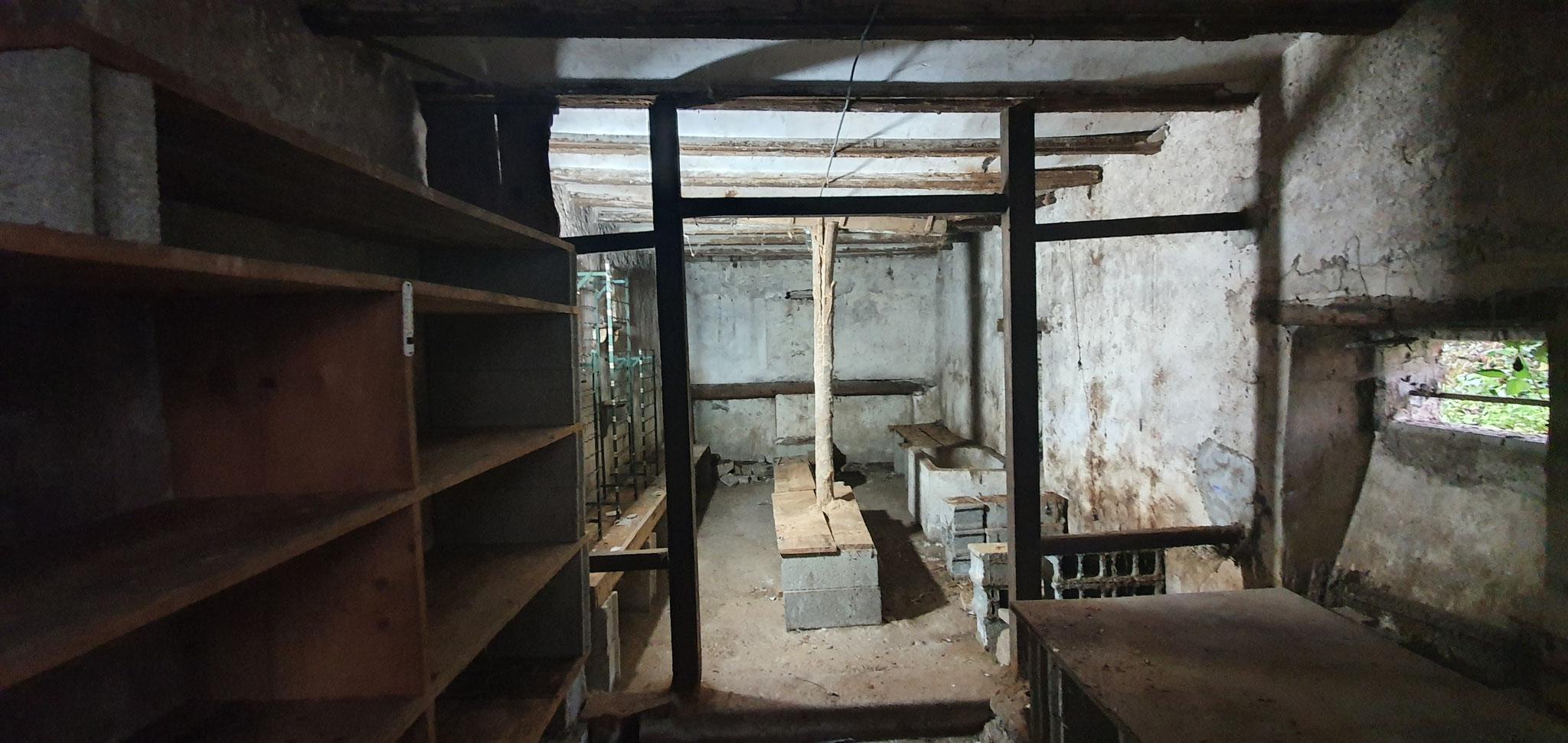 Débarras d'une cave après intervention - débarras Ahlen clément - débarrasse tout partout en Franche comté -  débarras Haut Doubs secteur morteau villers le lac
