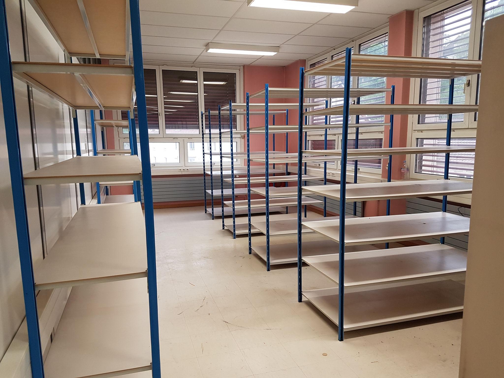 Débarras d'archives d'entreprise à Besançon -Après intervention - débarras Ahlen - 06.82.19.41.00