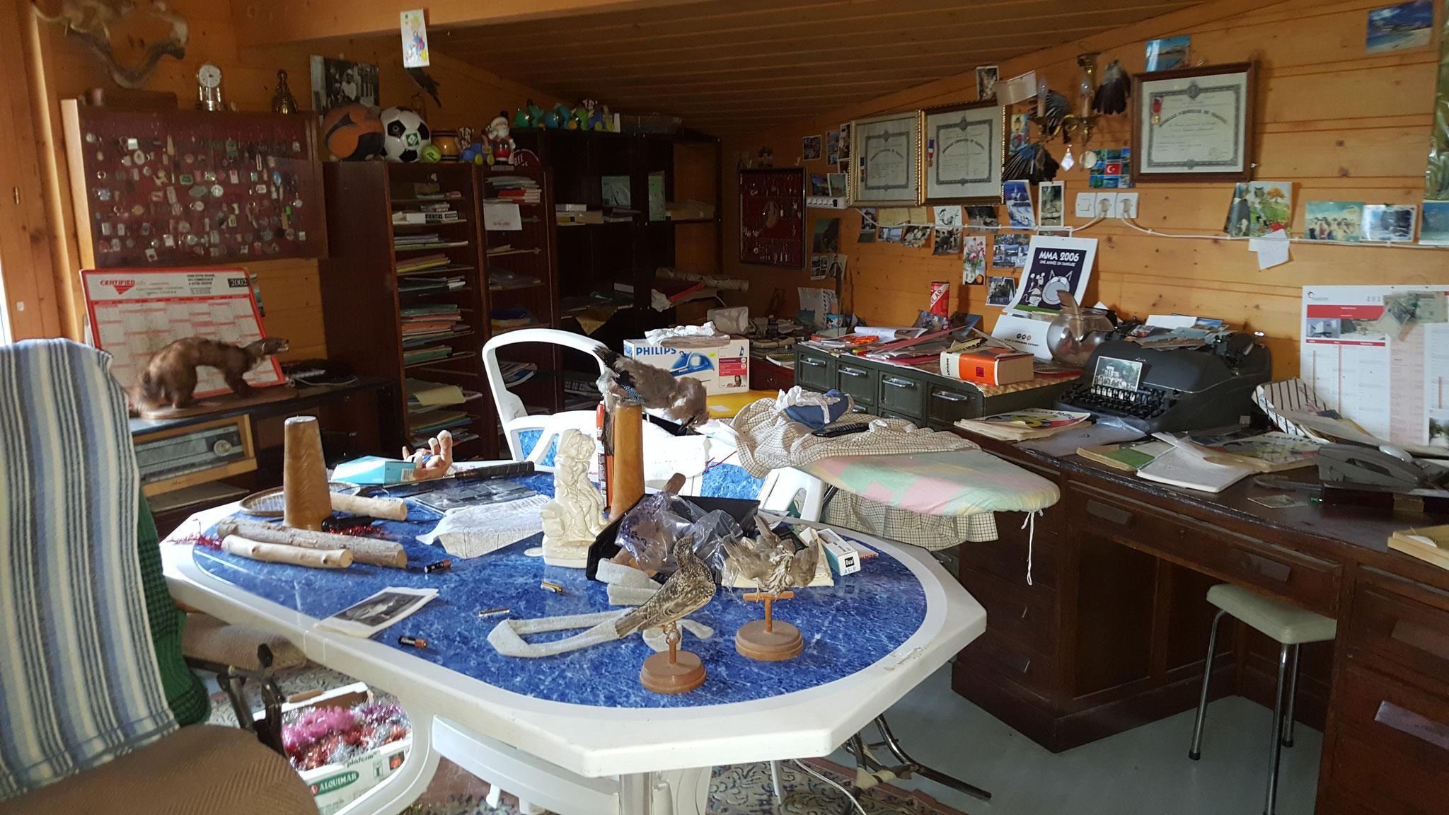Débarras d'une maison à levier - déblaiement débarras Ahlen Clément