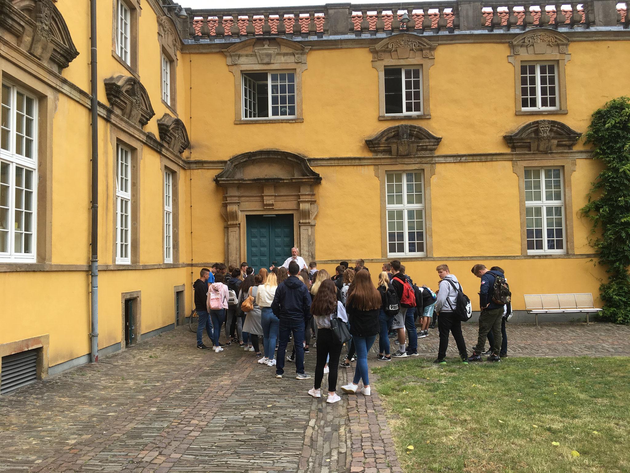 Gestapokeller im Schloss Osnabrück