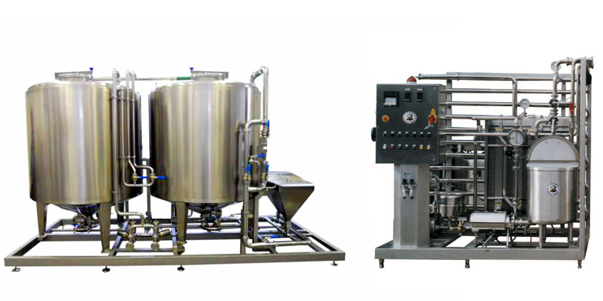 Impianto latte e derivati macchine per l 39 industria - Macchine per il sottovuoto alimentare ...