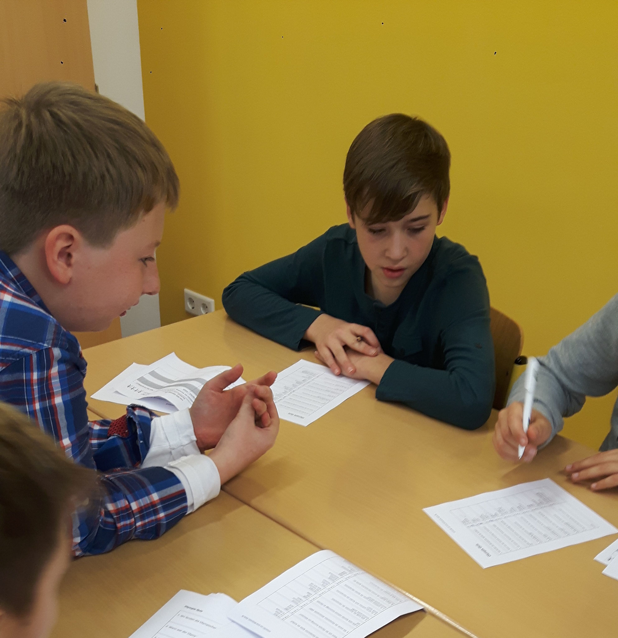 Jonas erstellte eigens ein Quiz zu den griechischen und römischen Göttern.