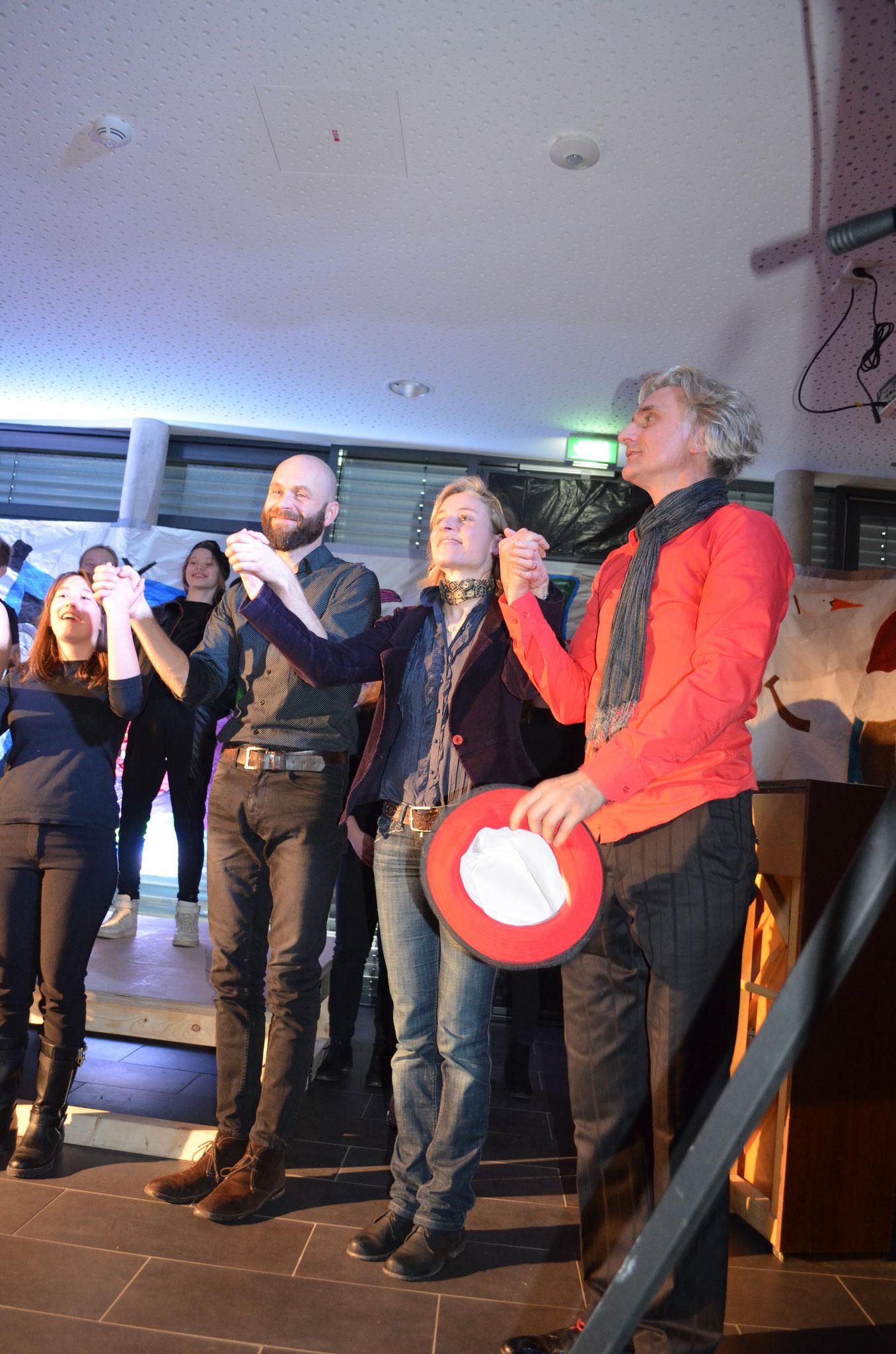 Ein herzliches Dankeschön an Michael, Anita und Stefan!