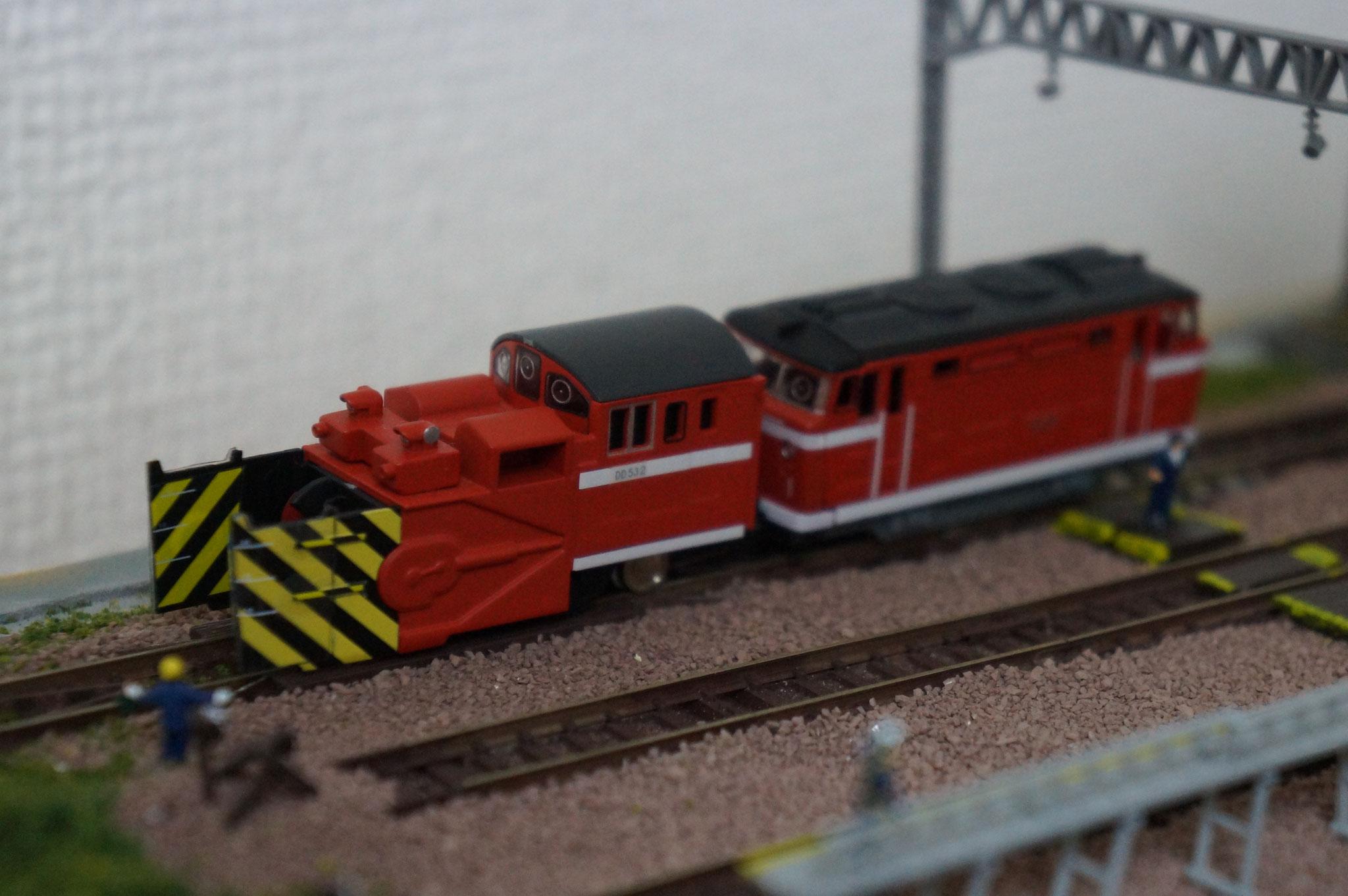 MD50ラッセル除雪機関車