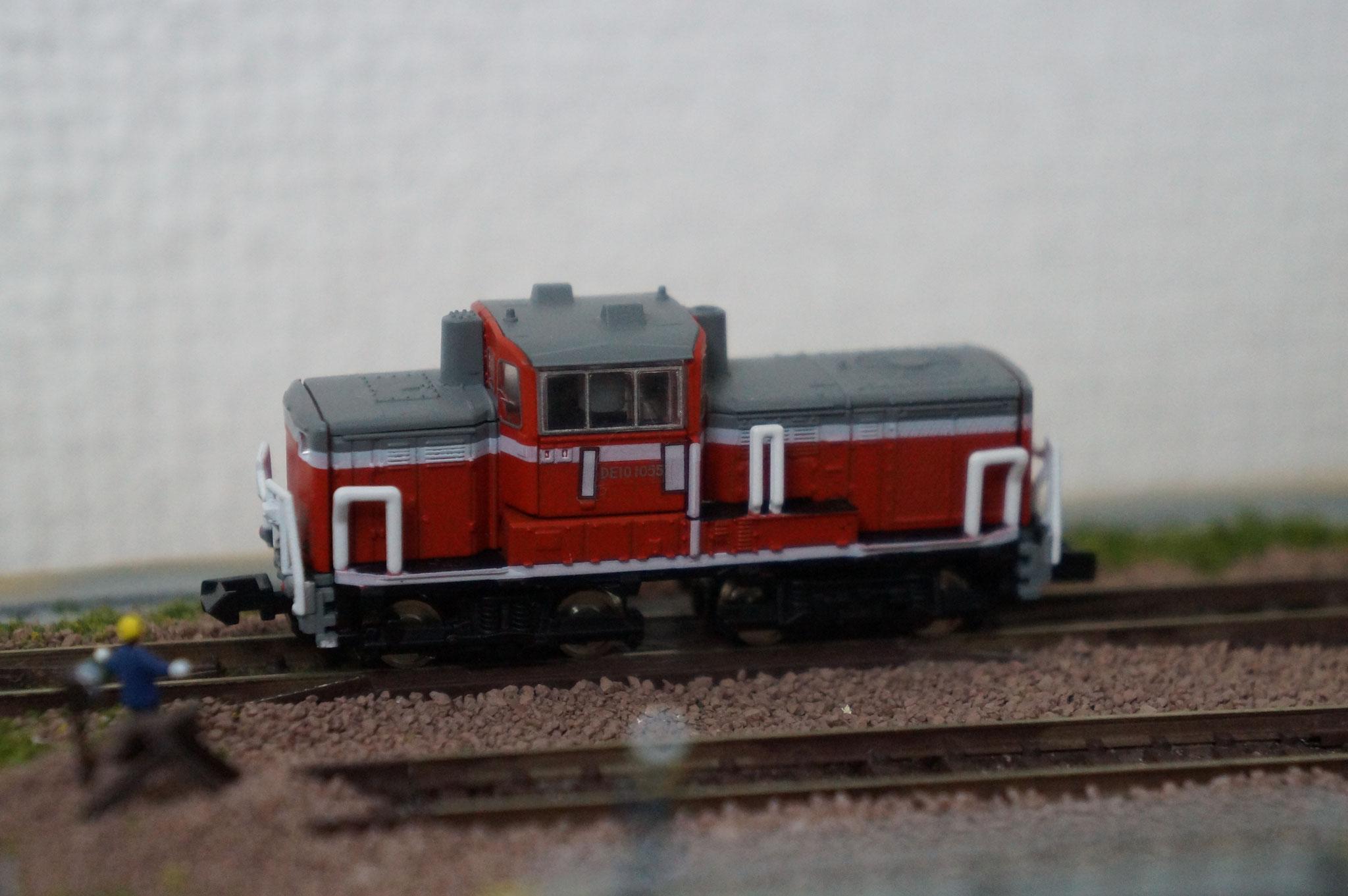 MD10ディーゼル機関車