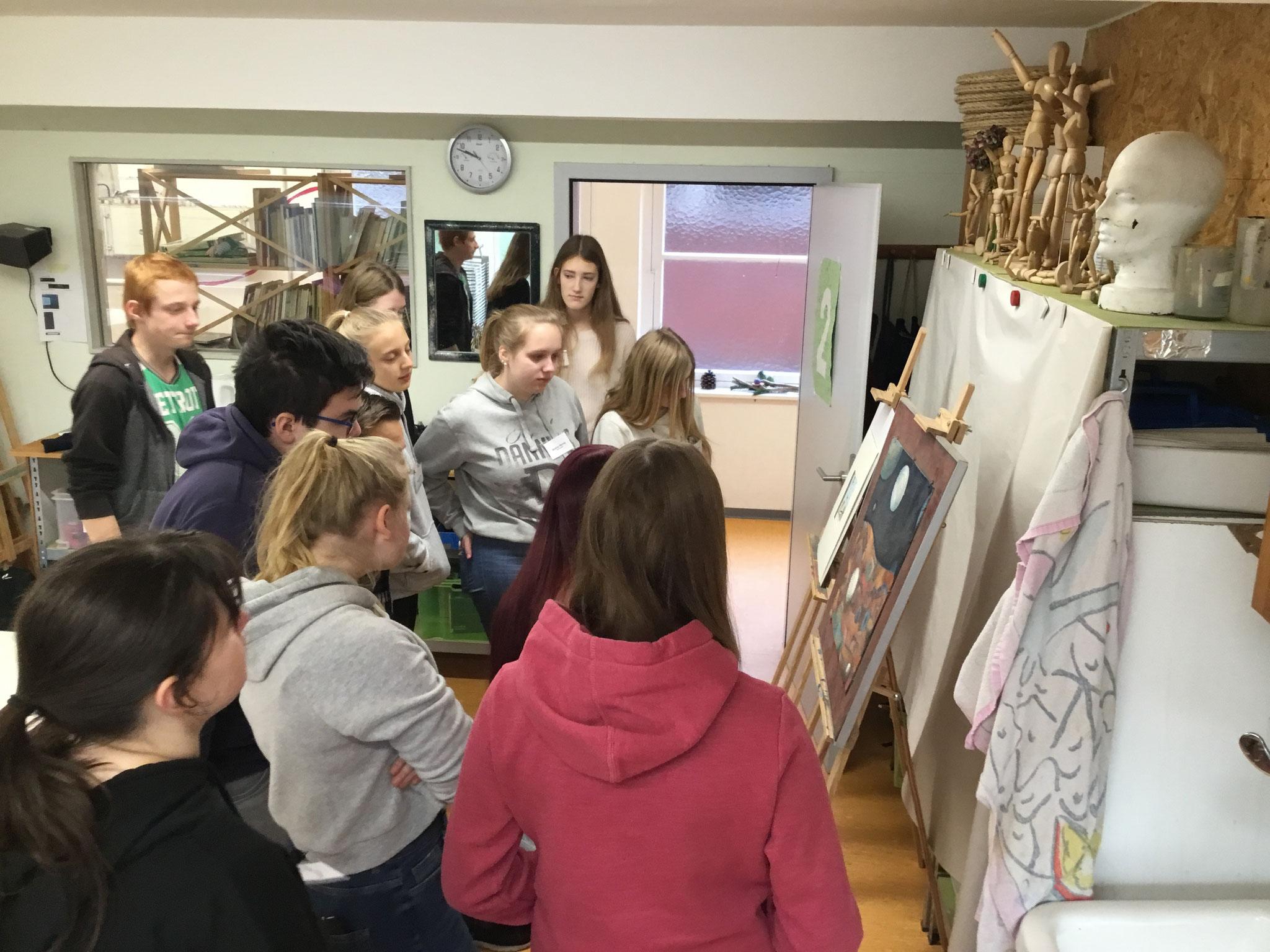 Kunstschule Norden Bildbeschreibung Ricardo Fuhrmann