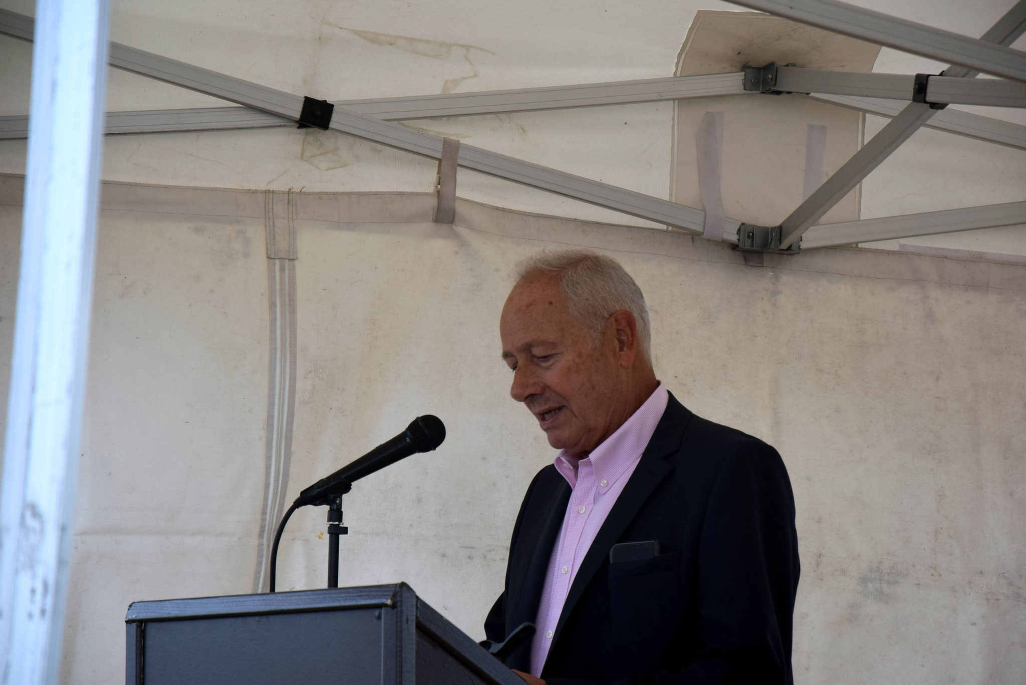 Dominique Touchard, Président de l'association des Amis du Moulin
