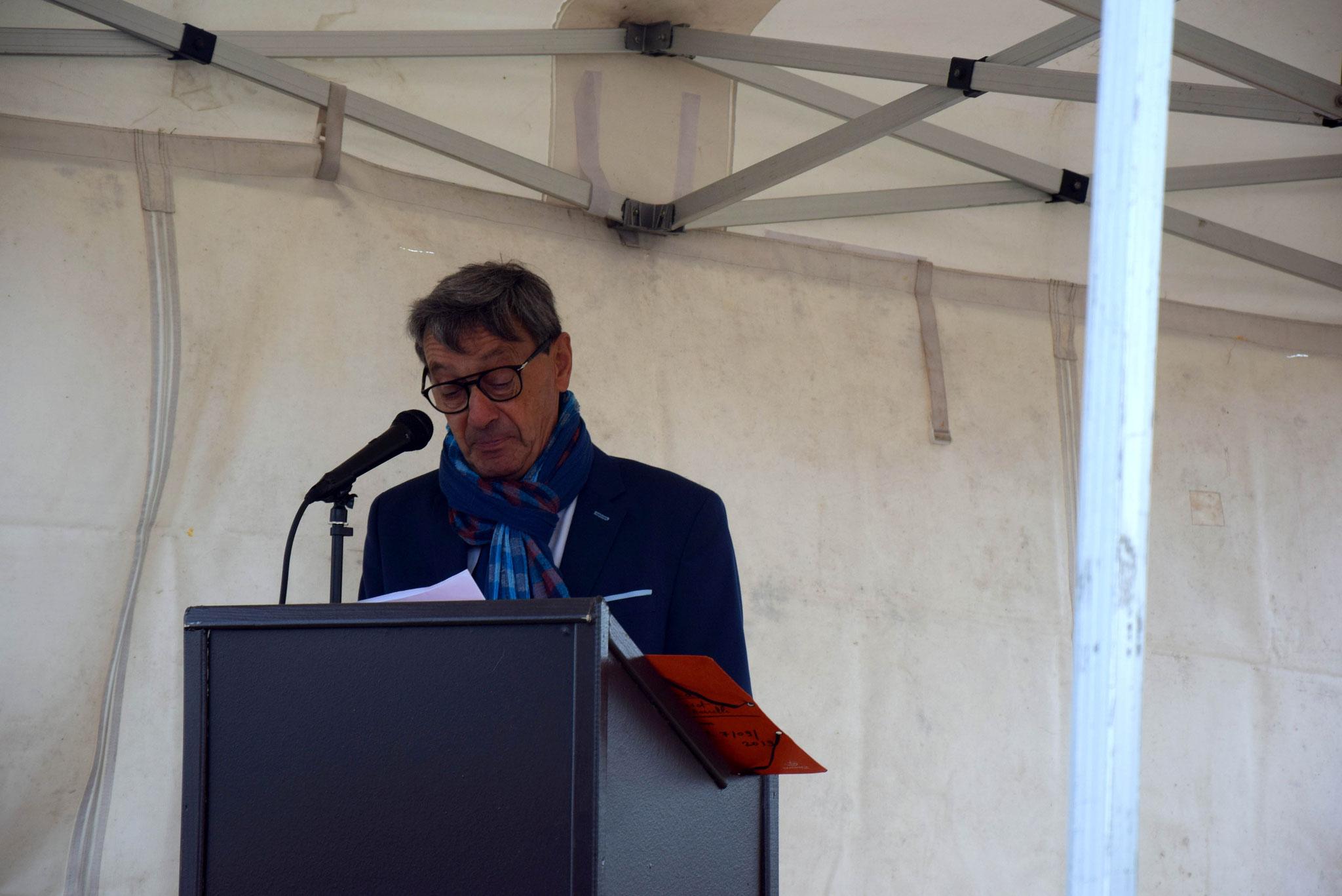 Lucien Hervé, maire de Coinces